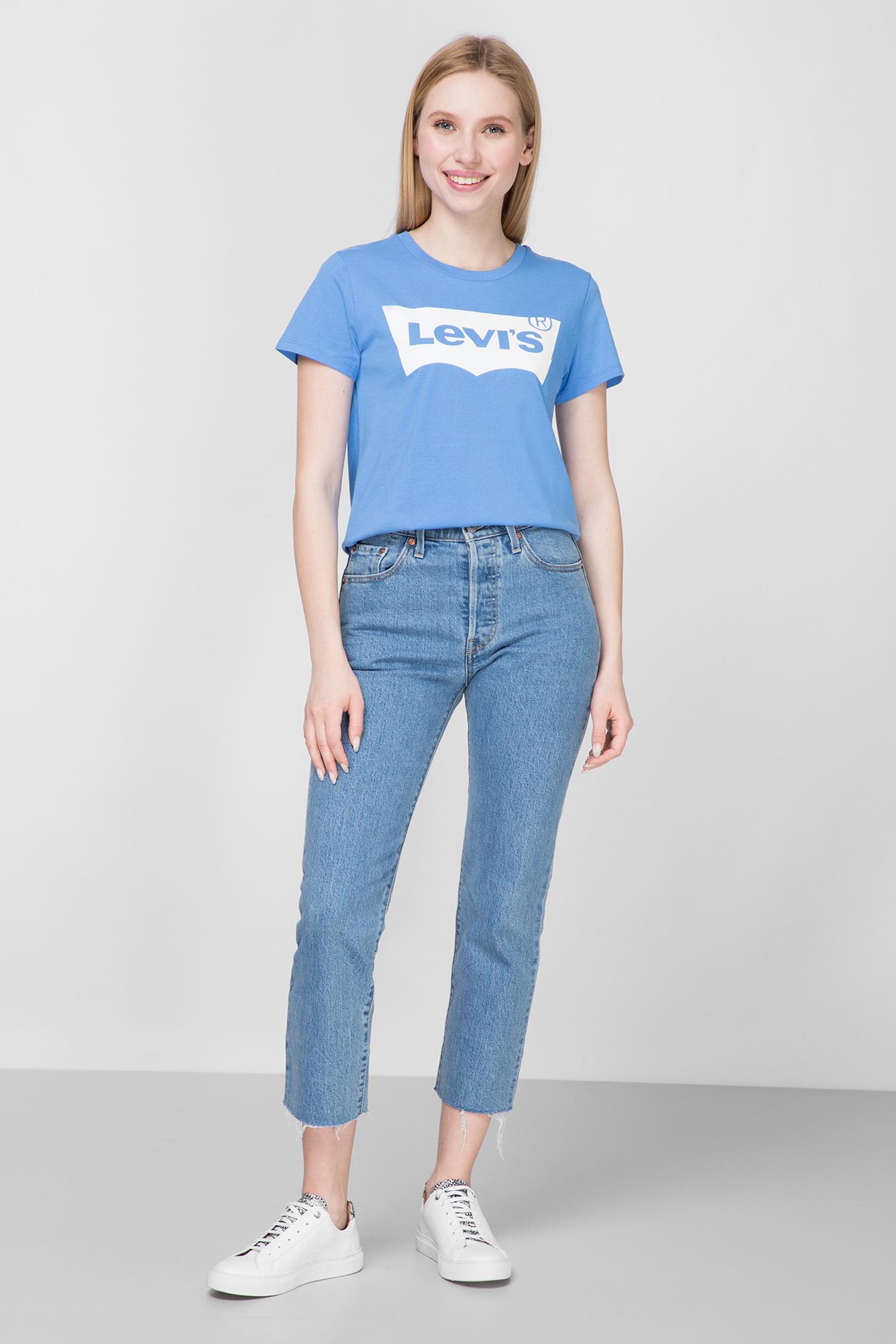 Женская голубая футболка Levi's 17369;0793