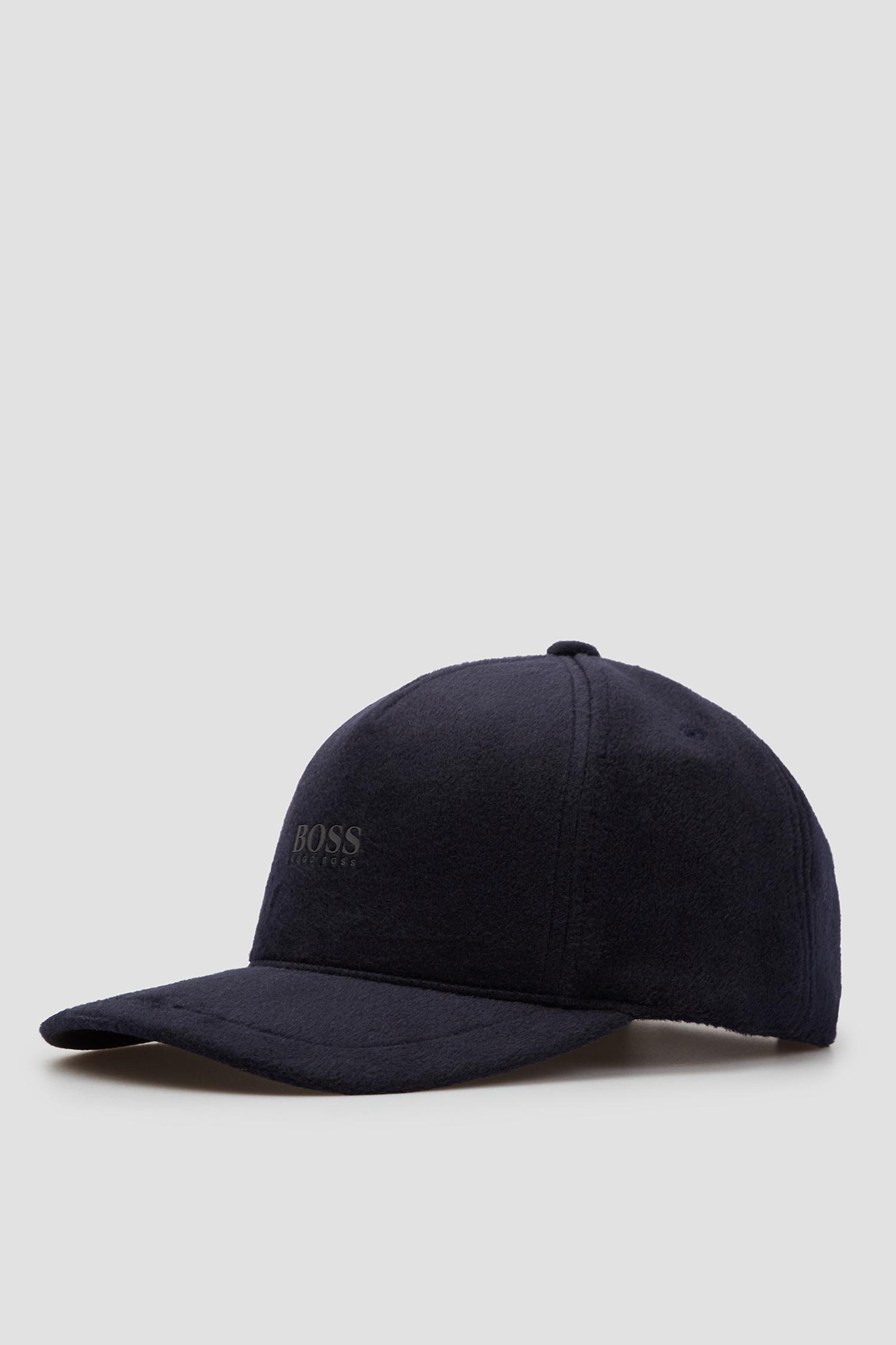 Чоловіча темно-синя кепка BOSS 50456203;404