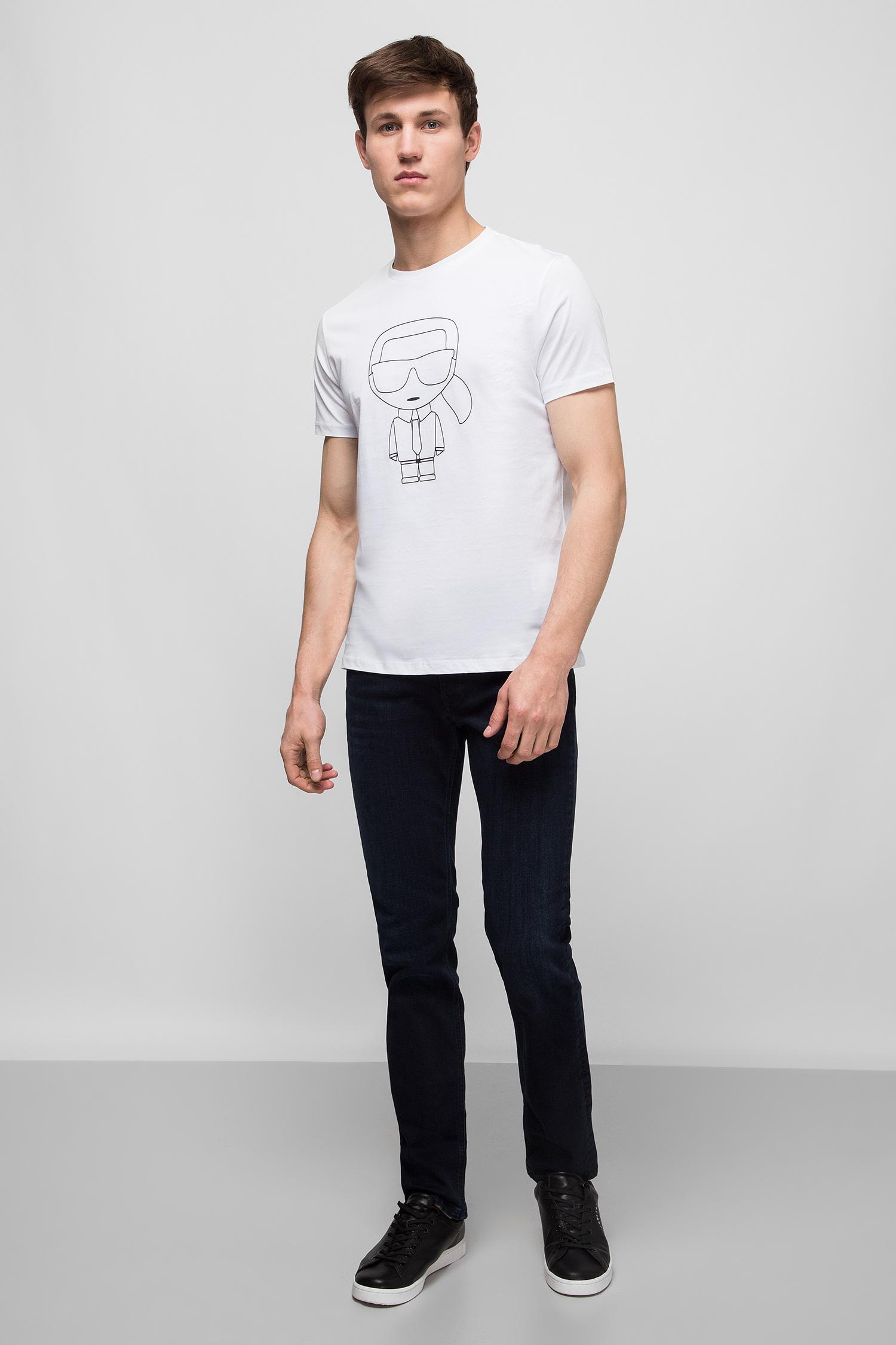 Мужские темно-синие джинсы Karl Lagerfeld 501830.265840;690