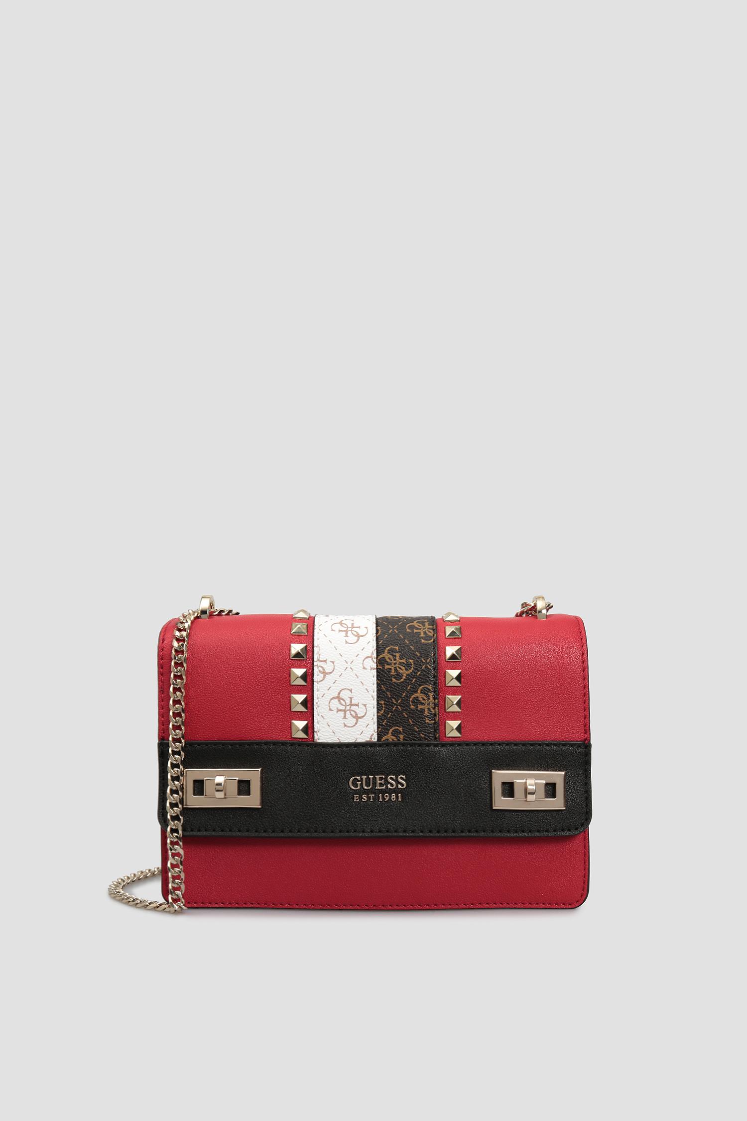 Красная сумка через плечо для девушек Guess HWVS78.70210;RML