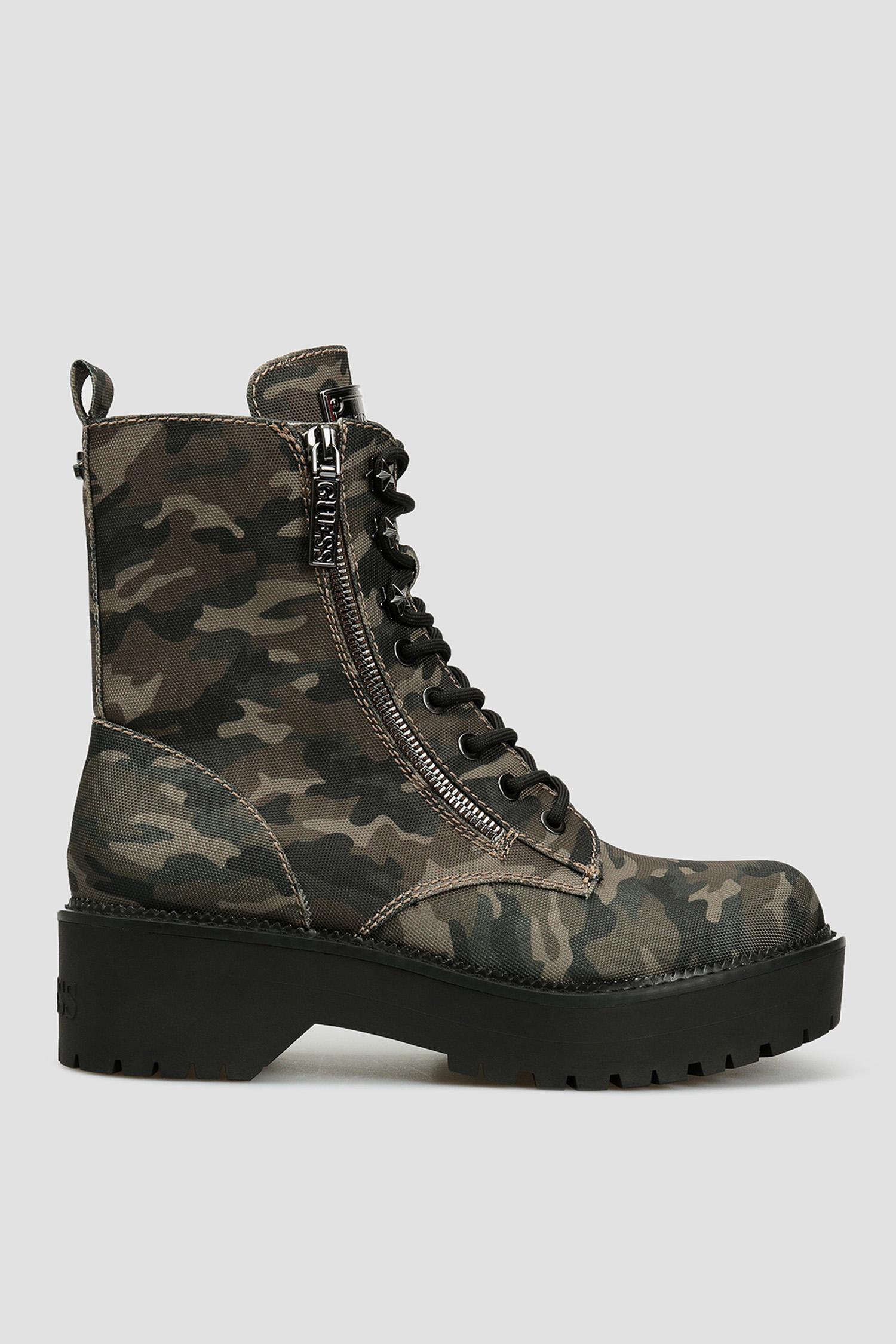 Женские камуфляжные ботинки Guess FL7TAE.FAP10;CAMO