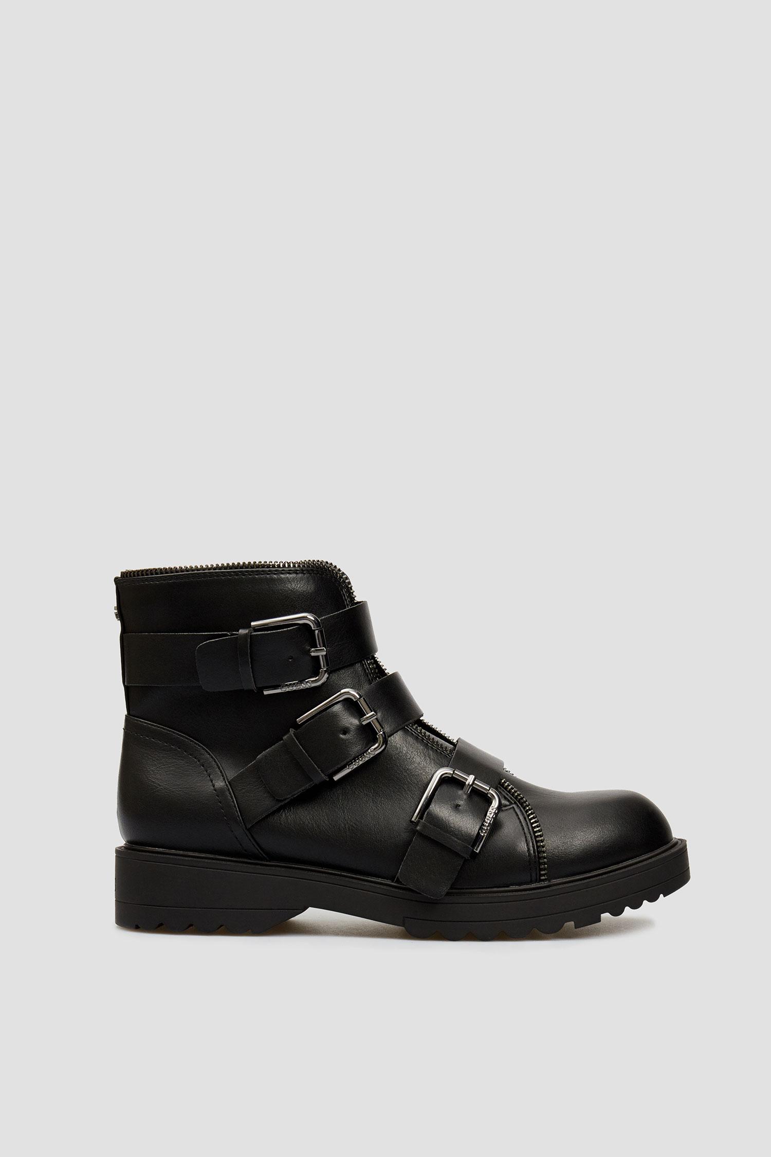 Женские черные ботинки Guess FL7WEN.ELE10;BLKBL