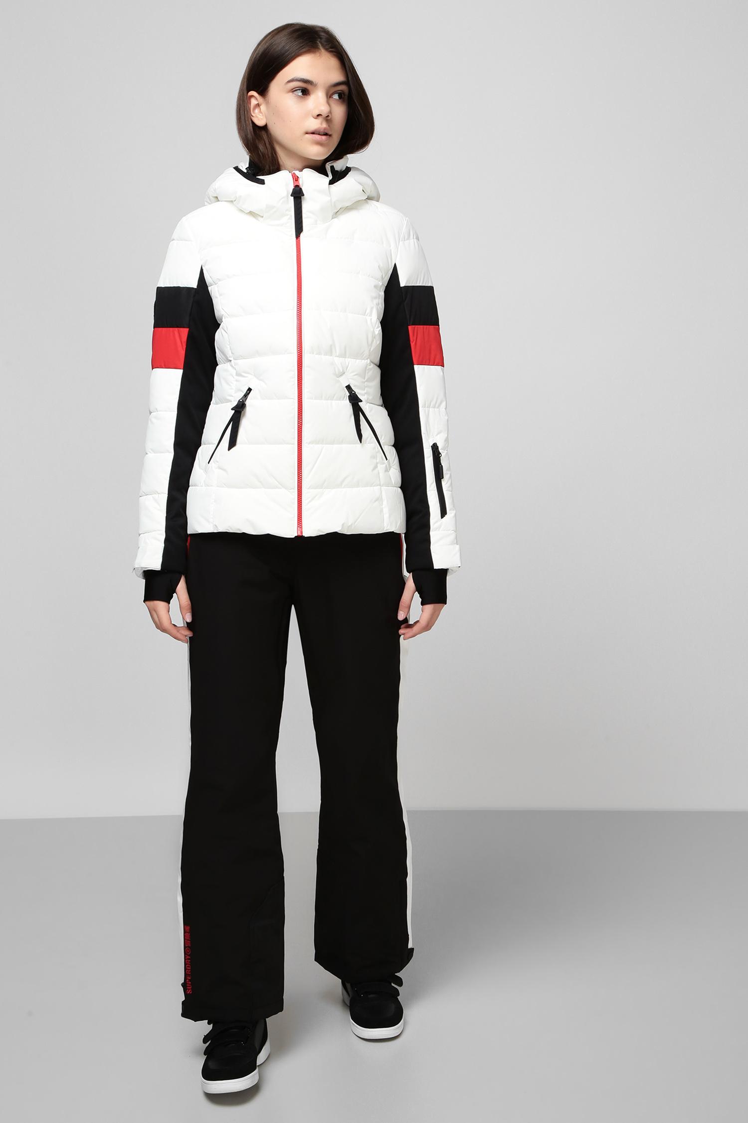 Черные лыжные брюки для девушек SuperDry WS110007A;02A