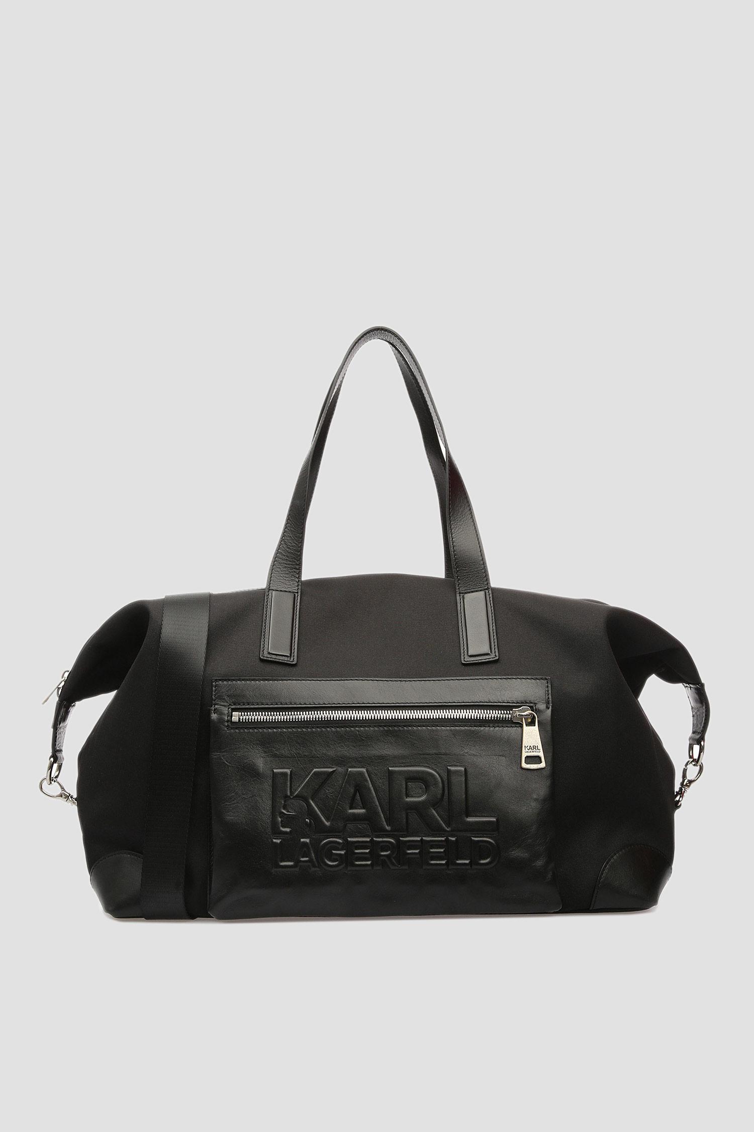 Чоловіча чорна дорожня сумка Karl Lagerfeld 591114.805900;990