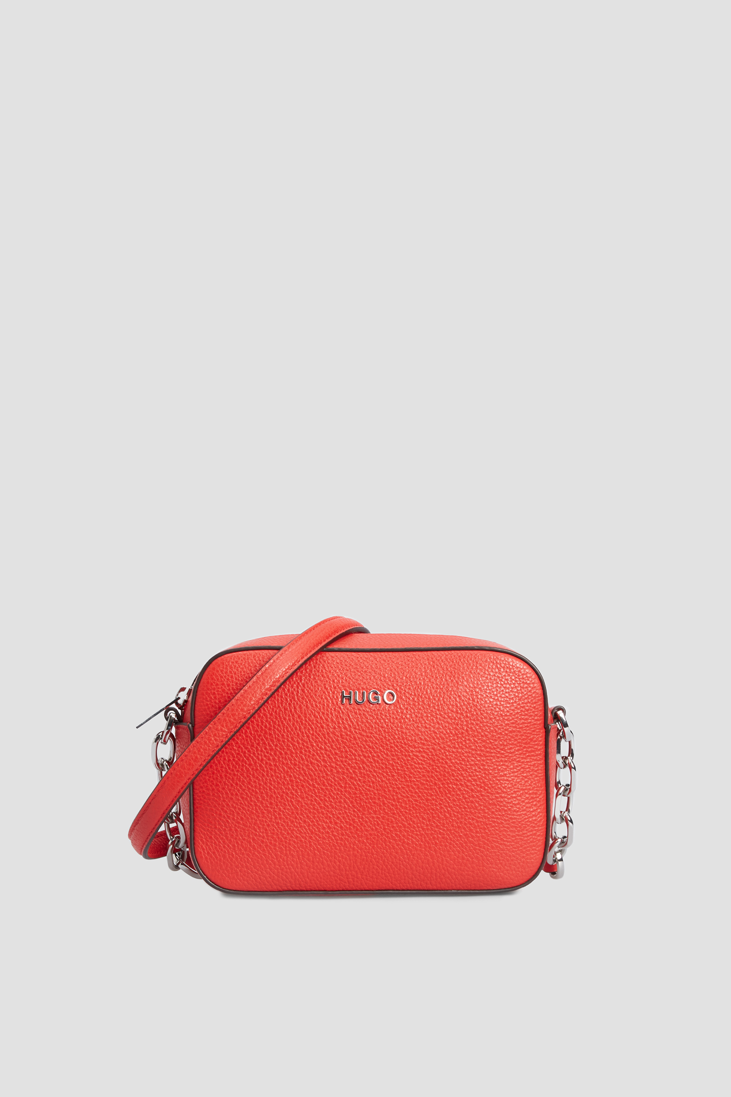 Женская красная кожаная сумка HUGO 50428518;623