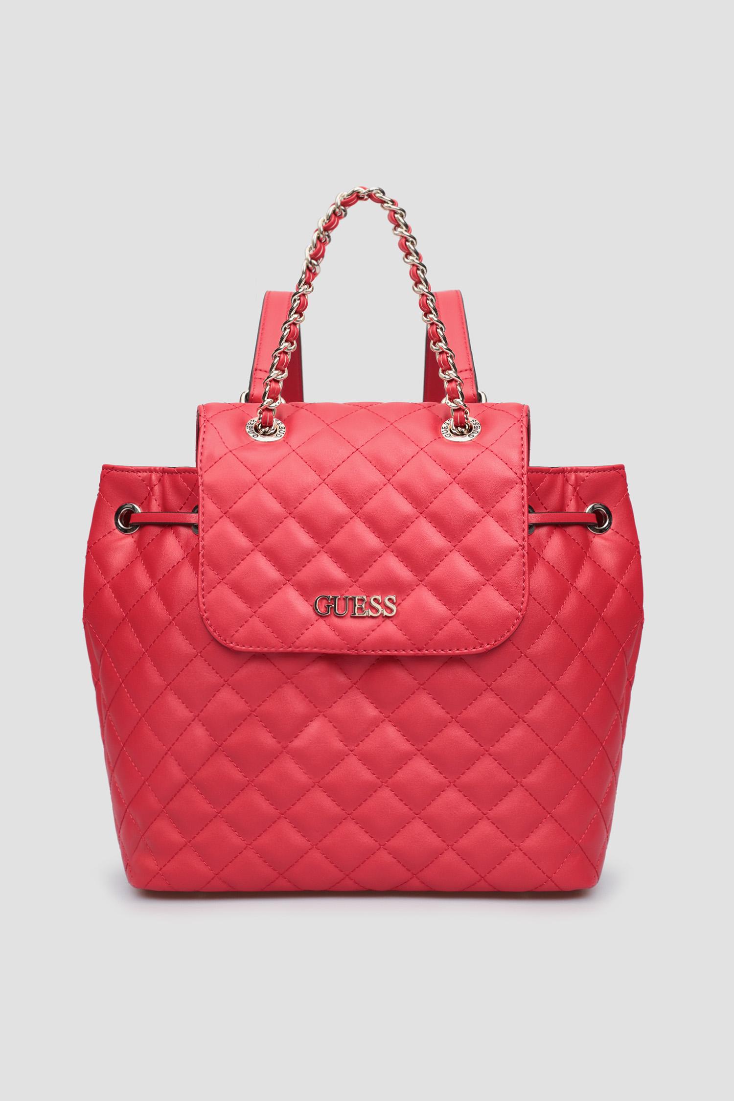 Женский красный рюкзак Guess HWVG79.70320;RED