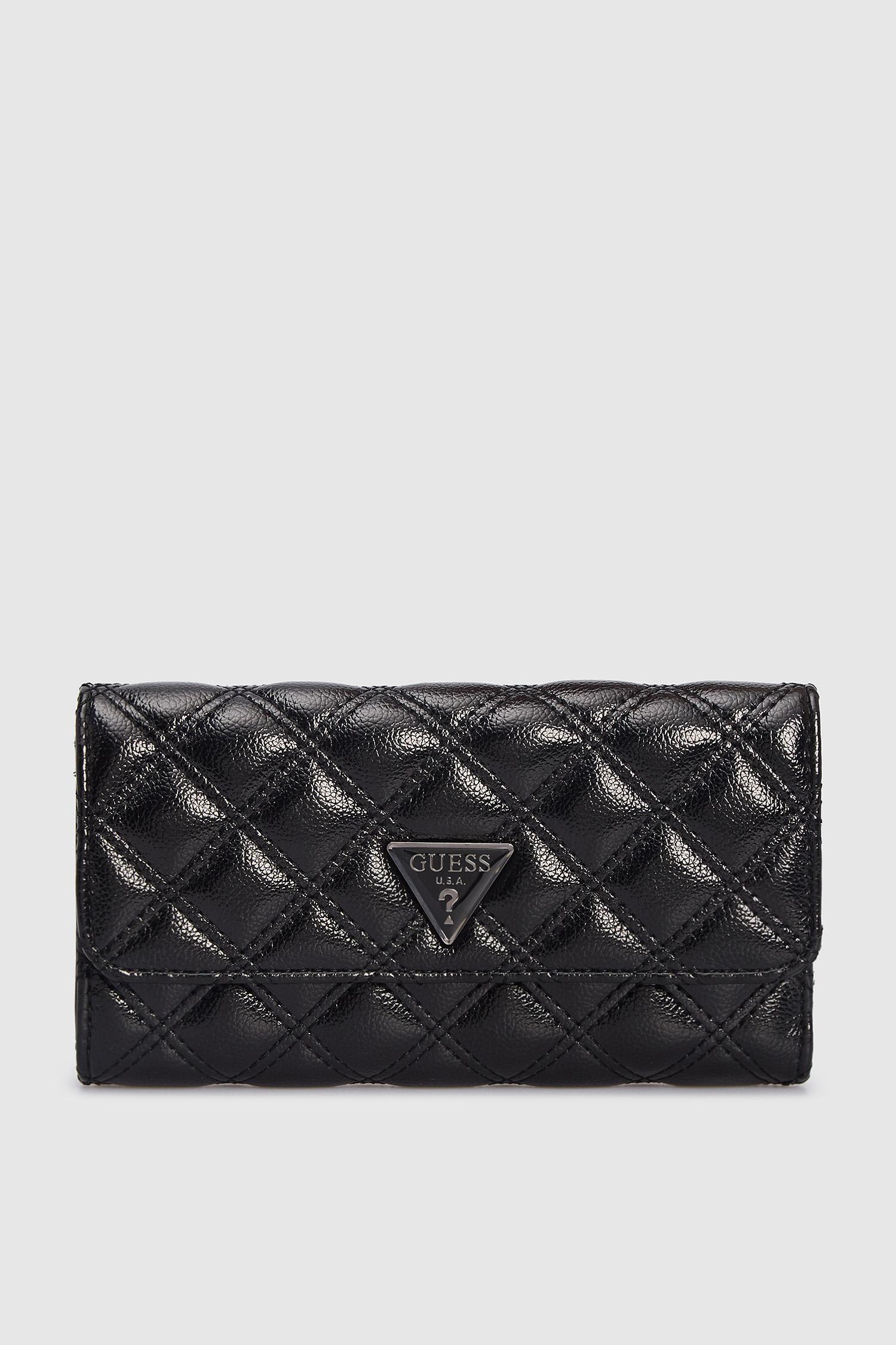 Женский черный кошелек Guess SWCM76.79650;BLA