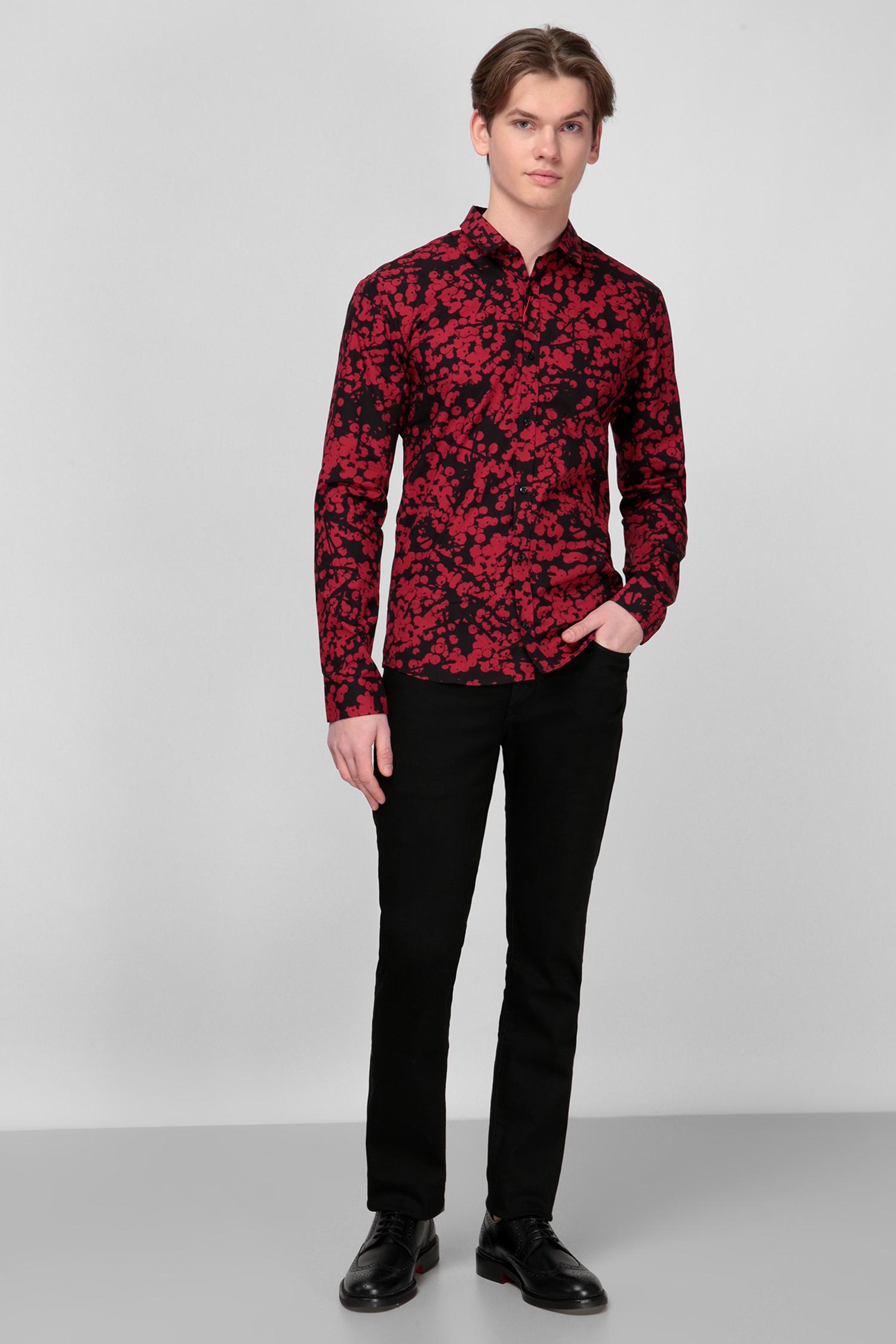 Рубашка с принтом для парней HUGO 50444293;693