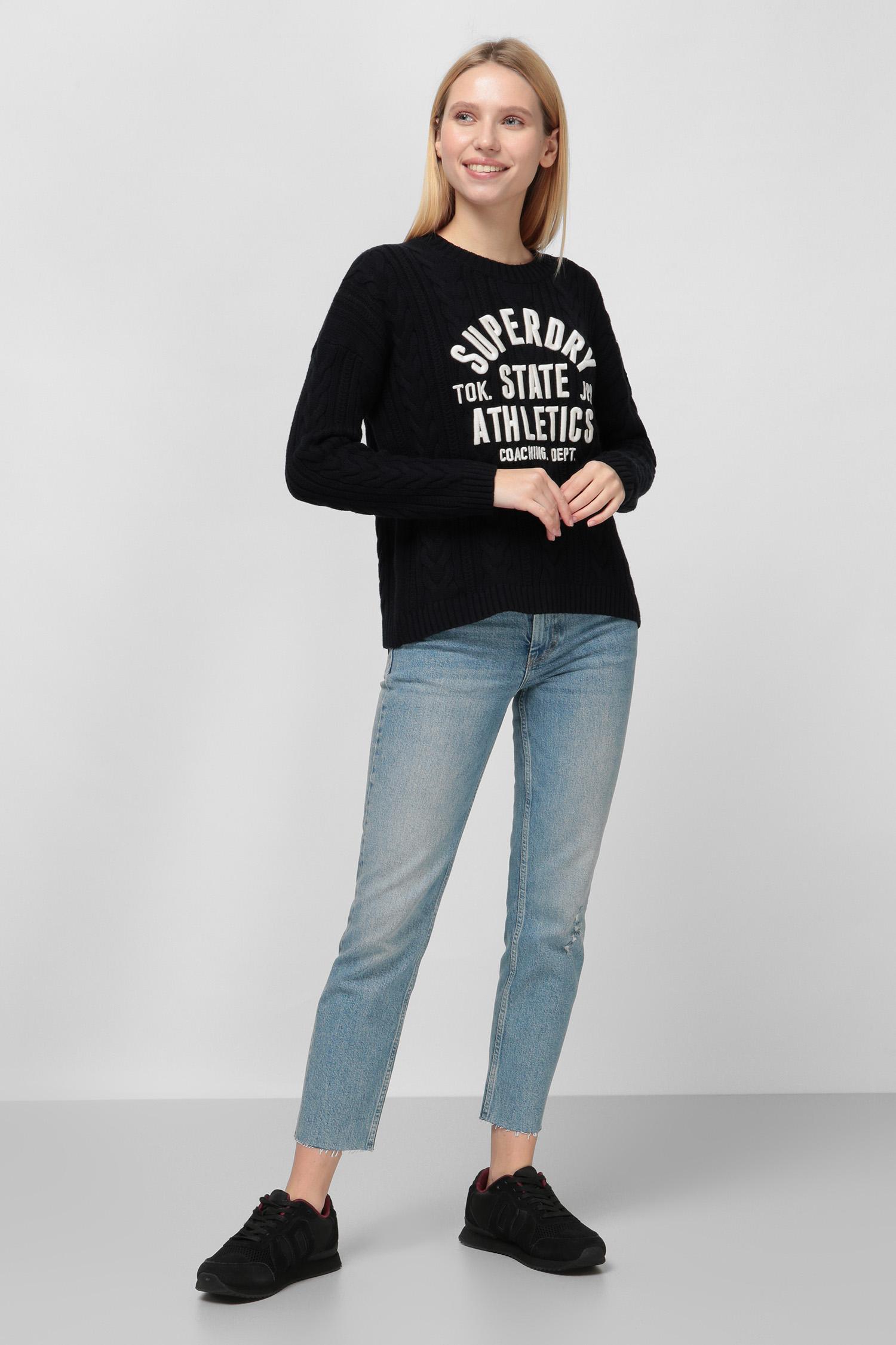 Женские голубые джинсы SuperDry W7010142A;4KL