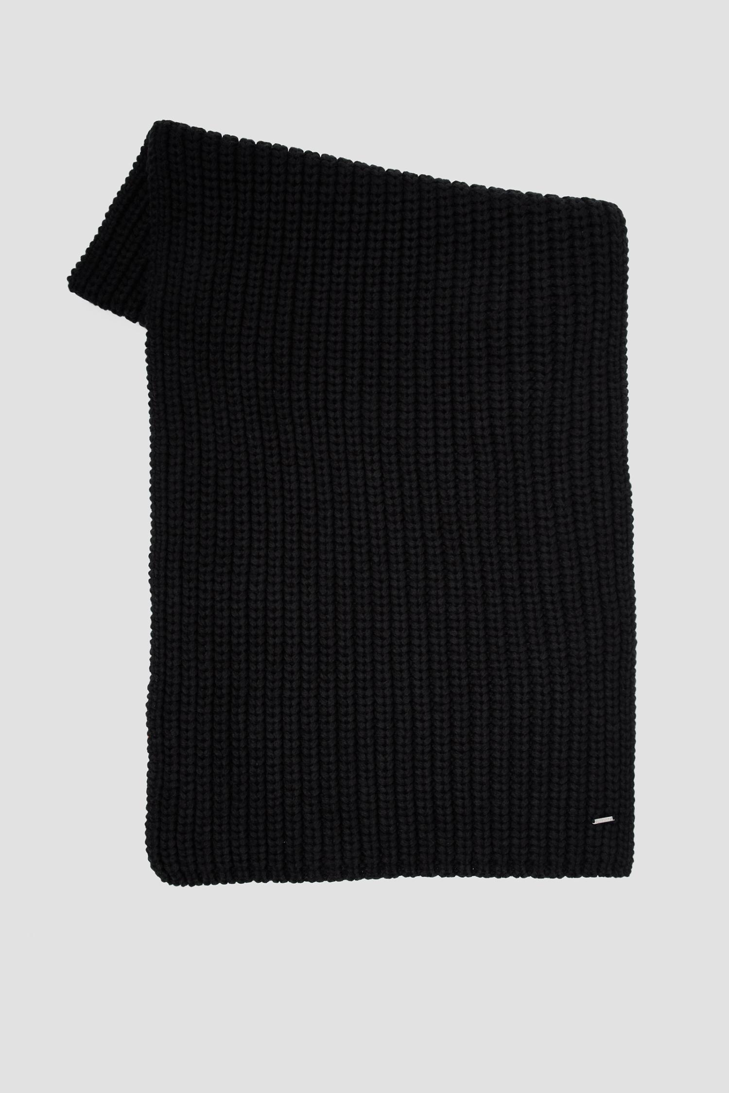 Черный шарф для девушек SuperDry W9310018A;02A