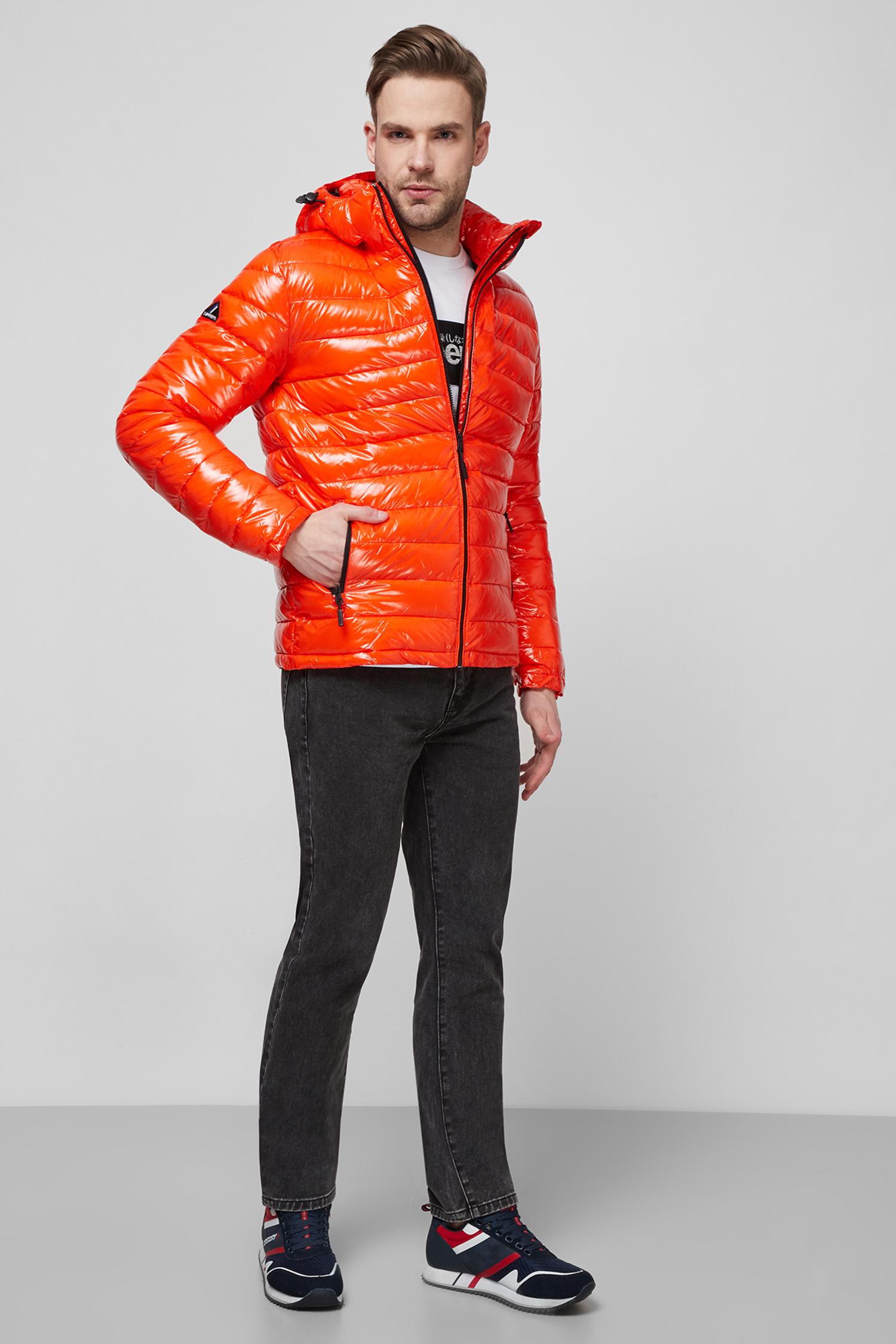 Мужская оранжевая куртка SuperDry M5010256A;OIR