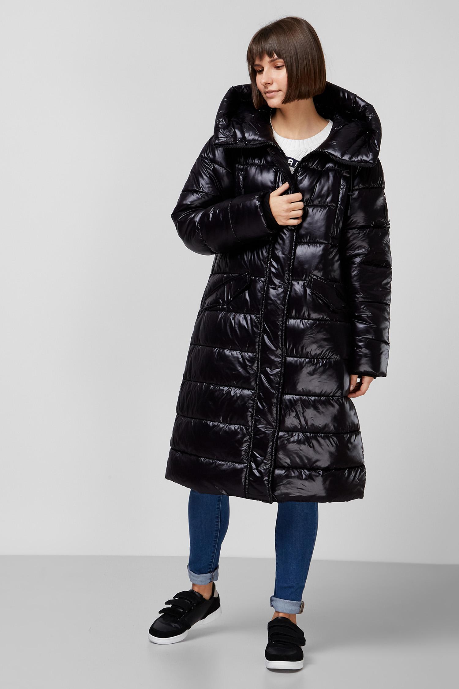 Женская черная куртка SuperDry W5010320A;02A