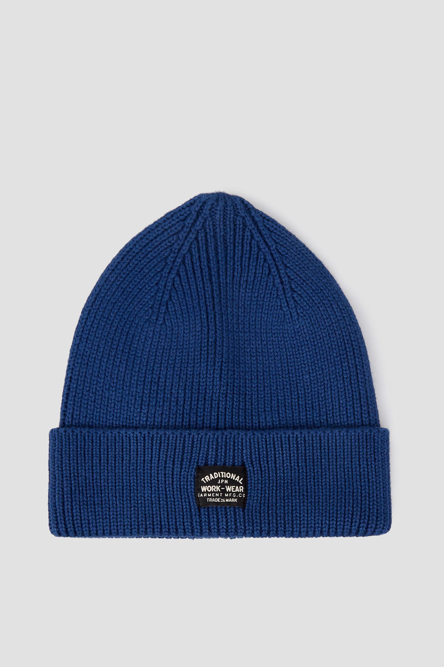 Мужская синяя шапка SuperDry M9010036A;J6P