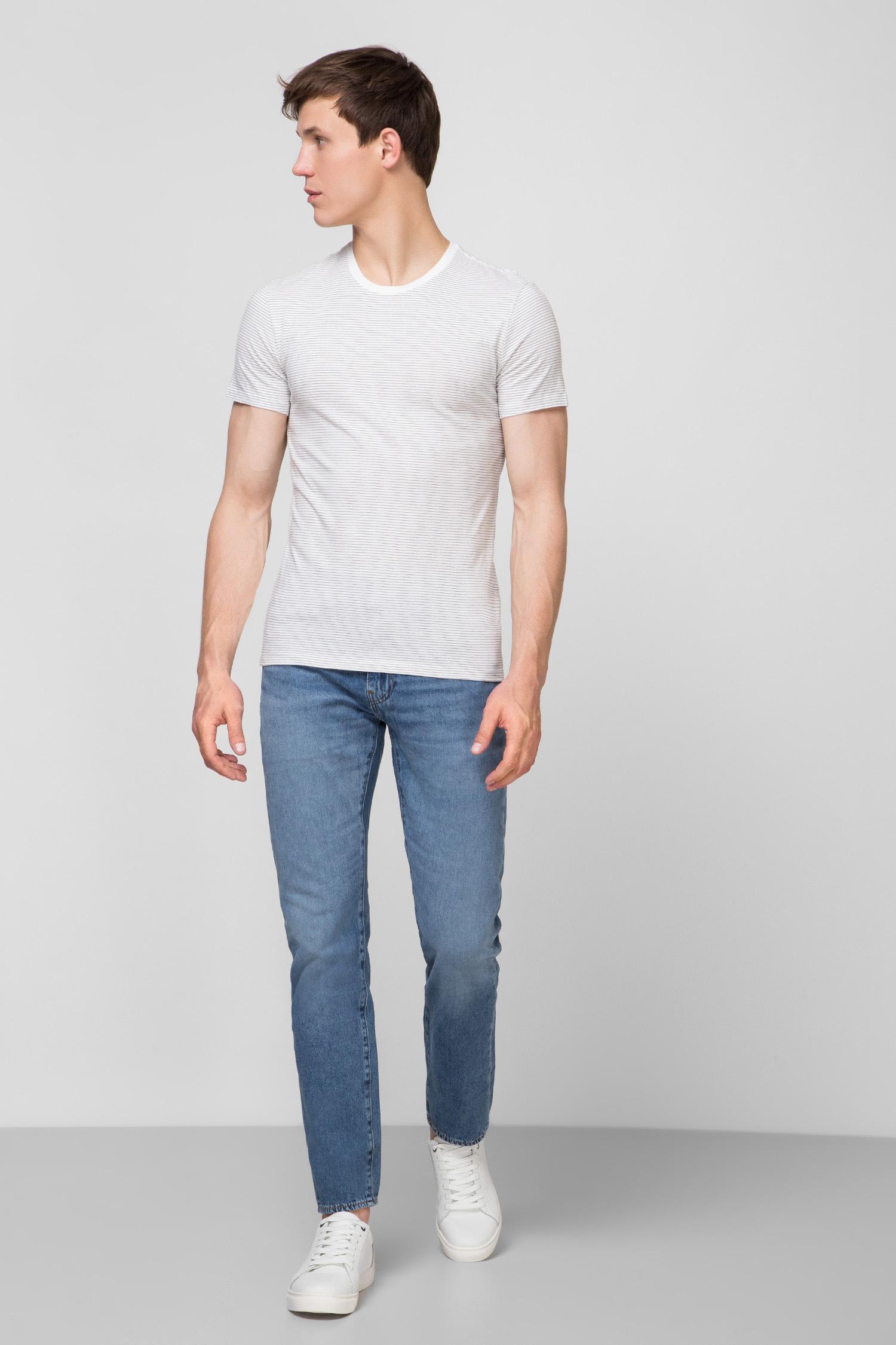 Мужские хлопковые футболки (2 шт) Slim Fit Levi's 79541;0006