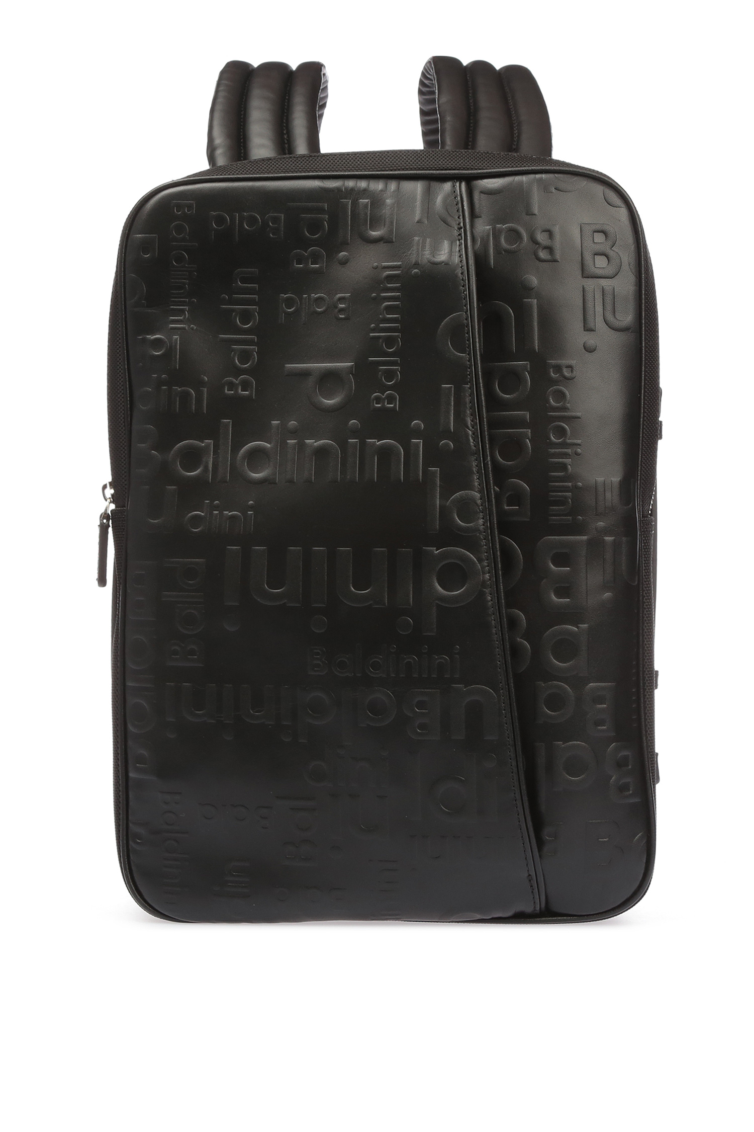 Мужской черный кожаный рюкзак Baldinini CAS591;00