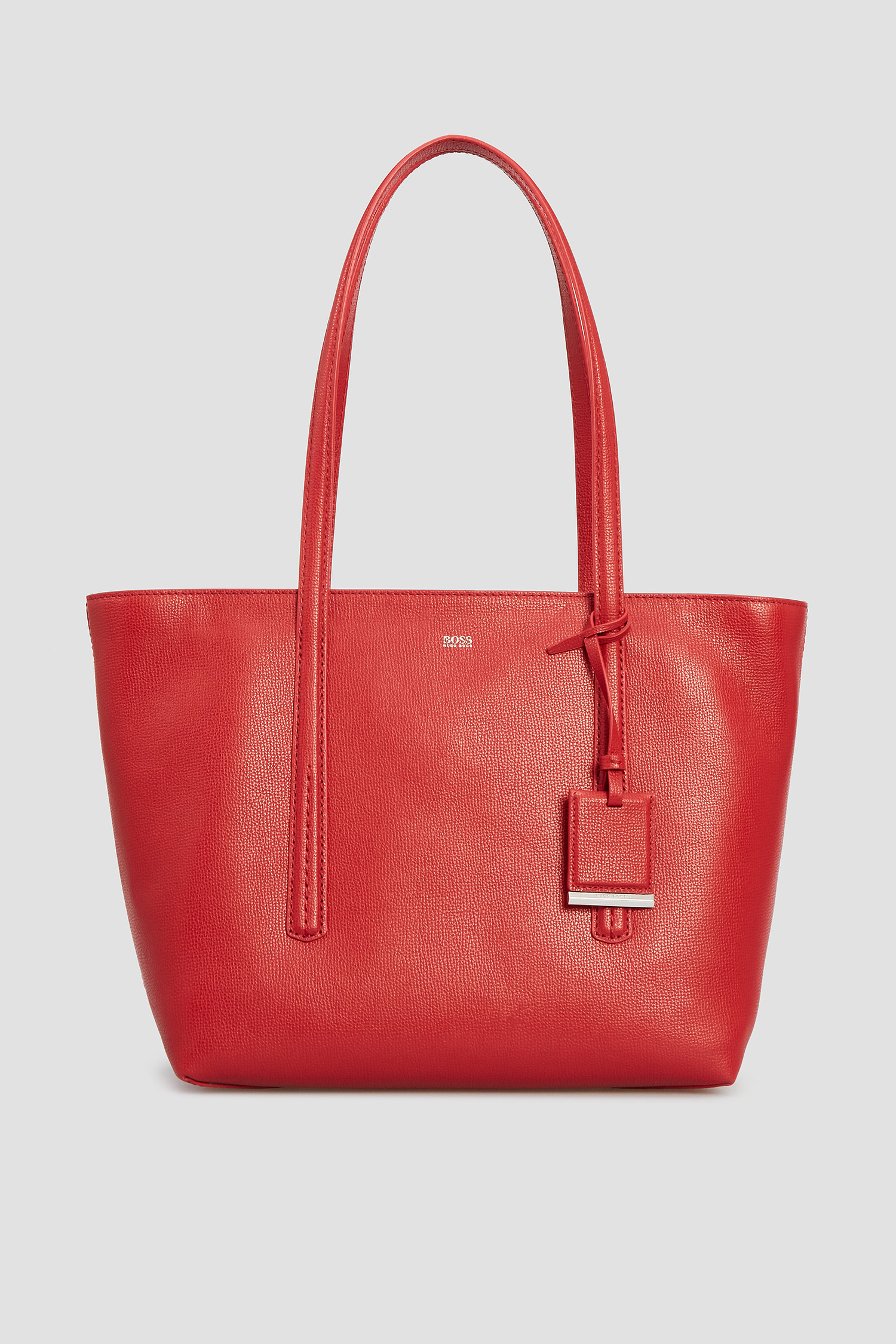 Женская красная кожаная сумка BOSS 50424295;620