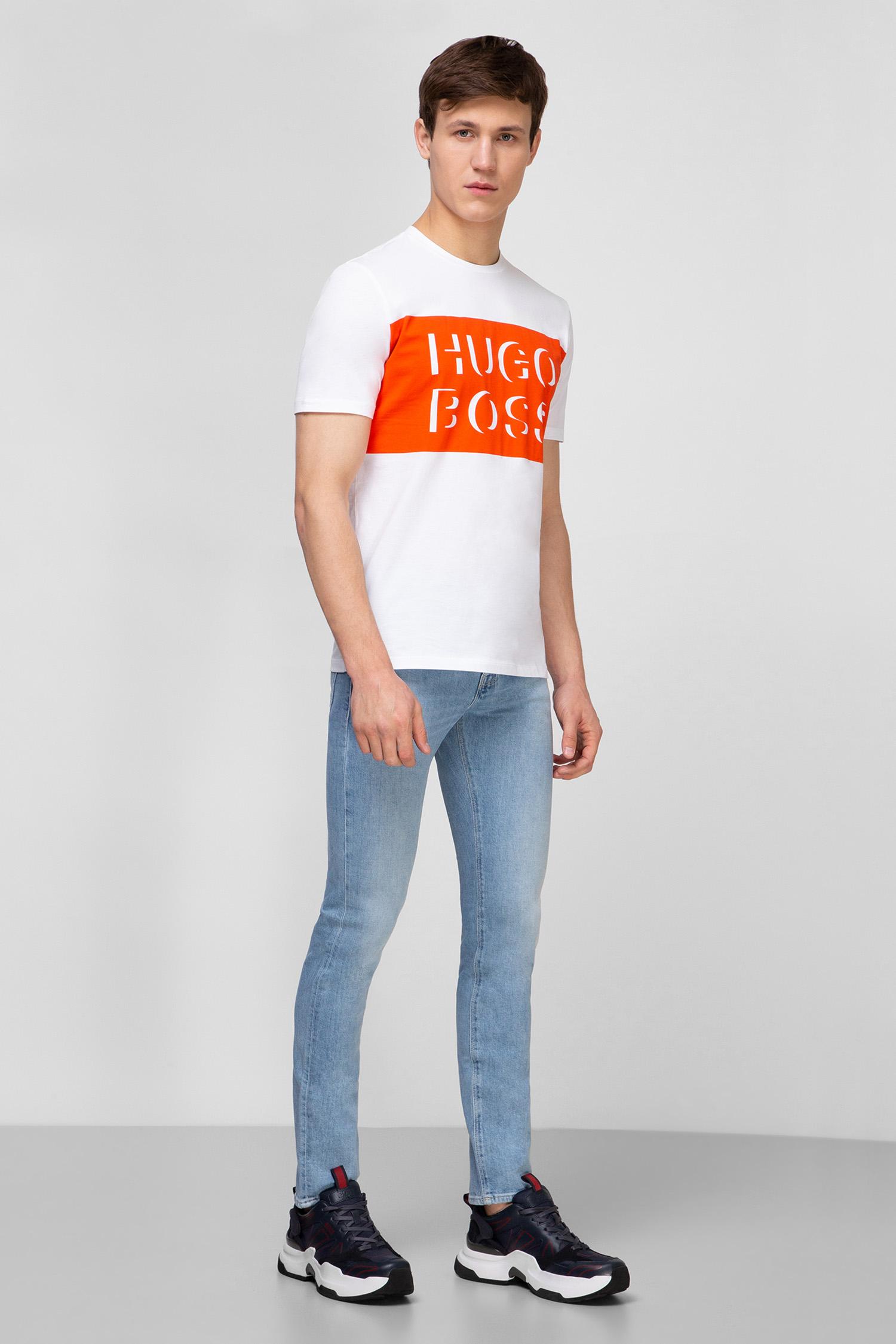 Чоловічі блакитні джинси BOSS 50426505;450