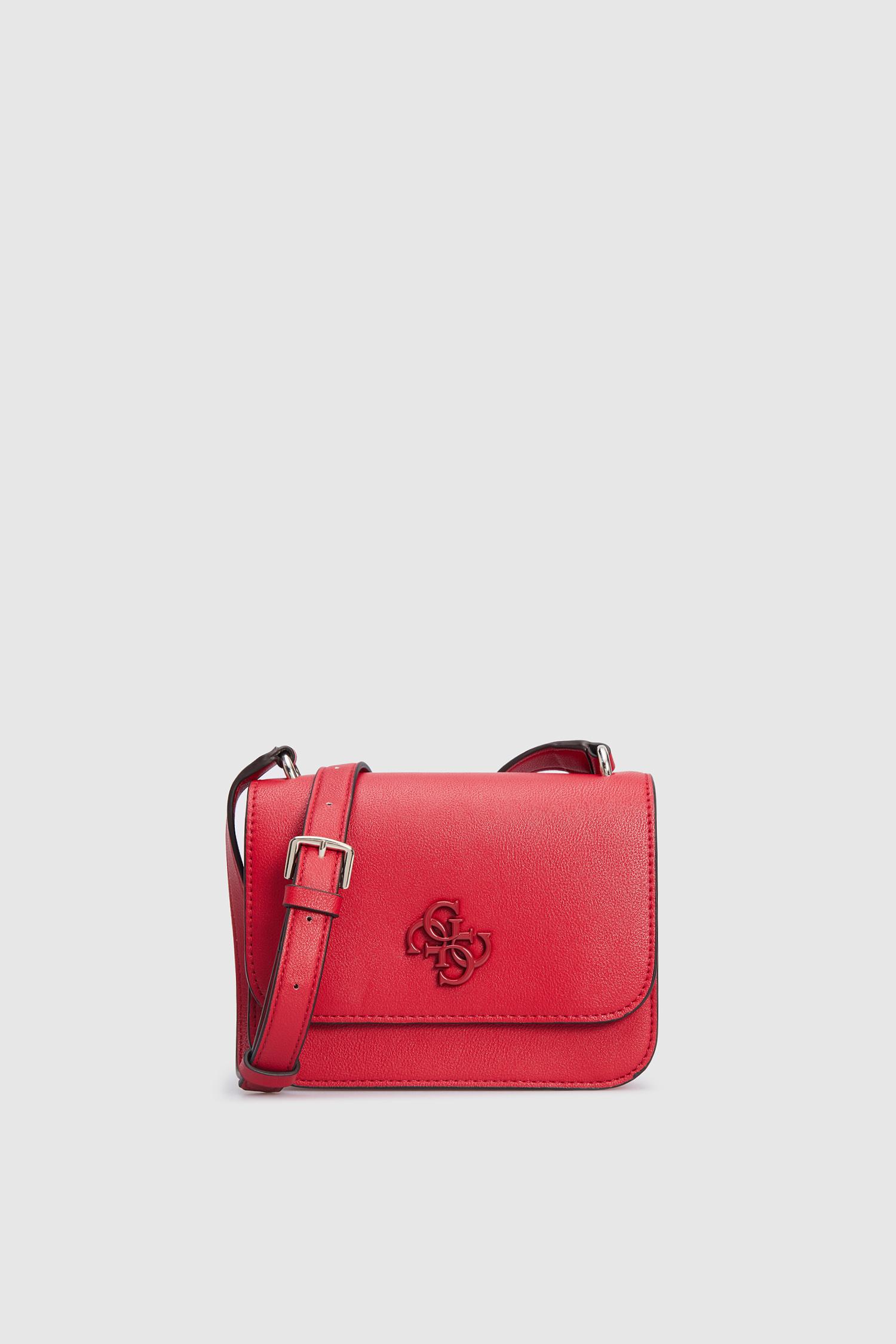 Женская красная сумка через плечо Guess HWVE78.79780;RED