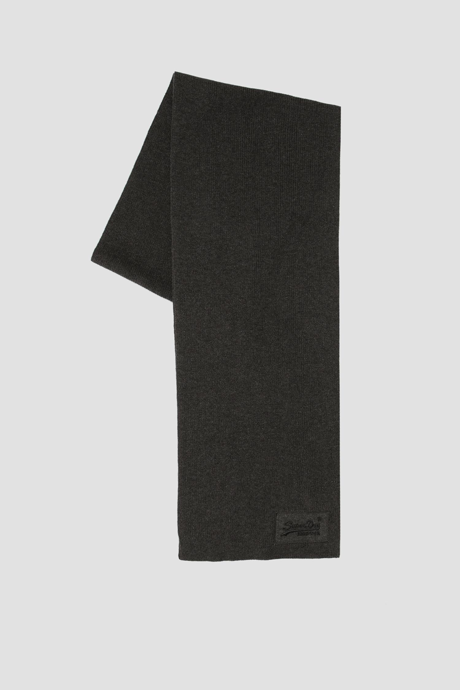 Темно-серый шарф для парней SuperDry M9310010A;DW2