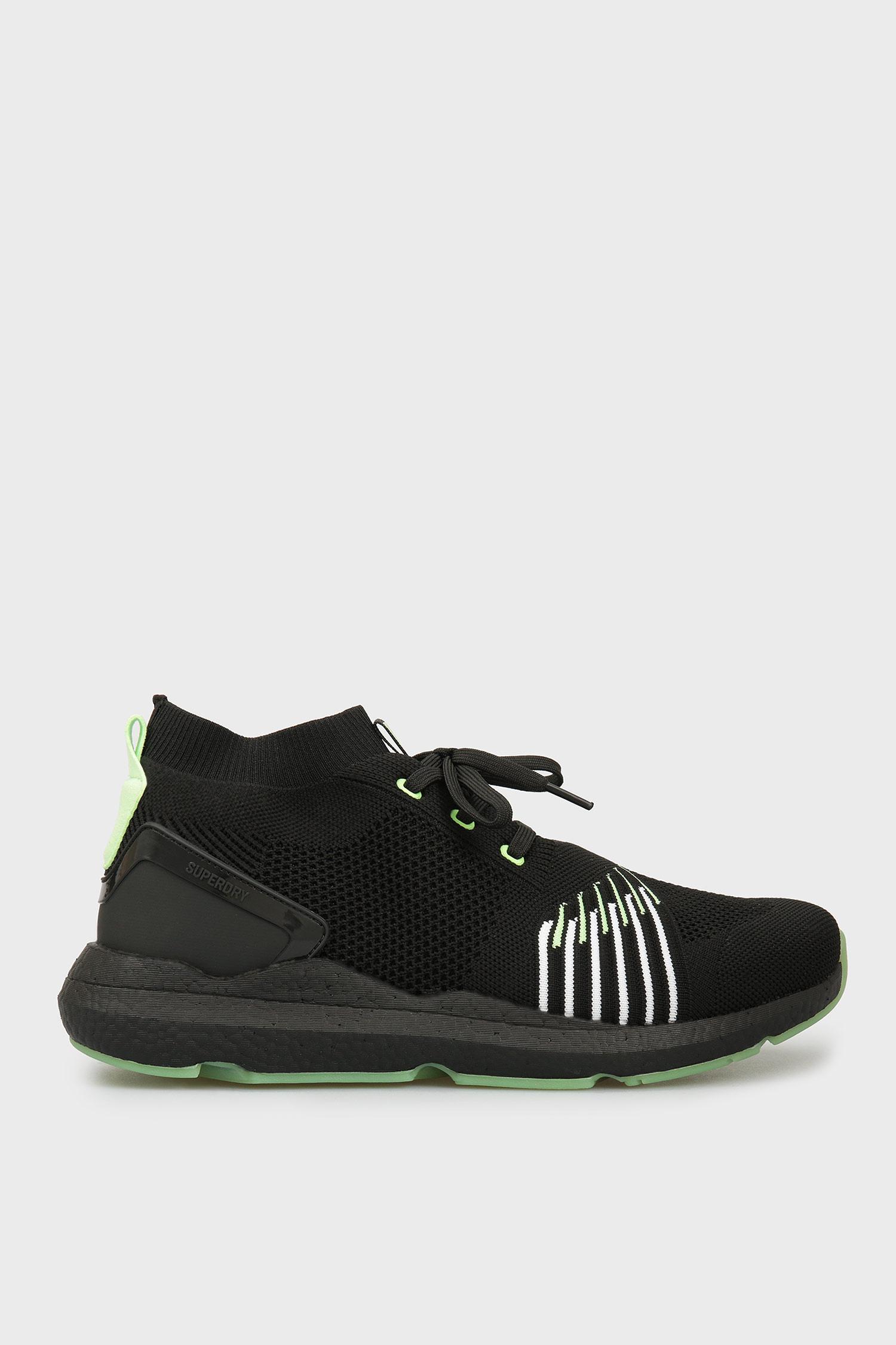 Мужские черные кроссовки SuperDry MS510014A;02A