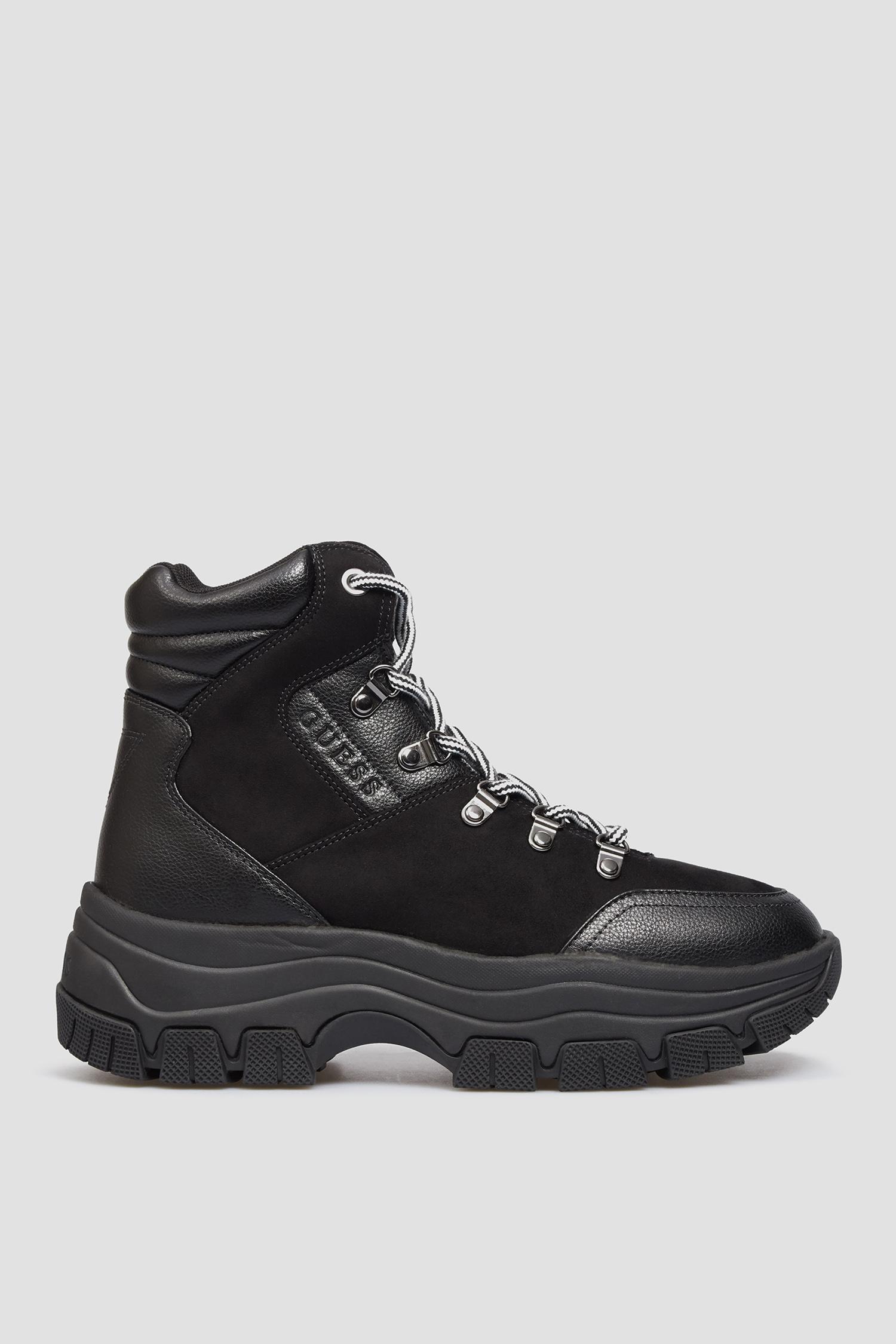 Женские черные ботинки Guess FL8BEV.ELE12;BLACK