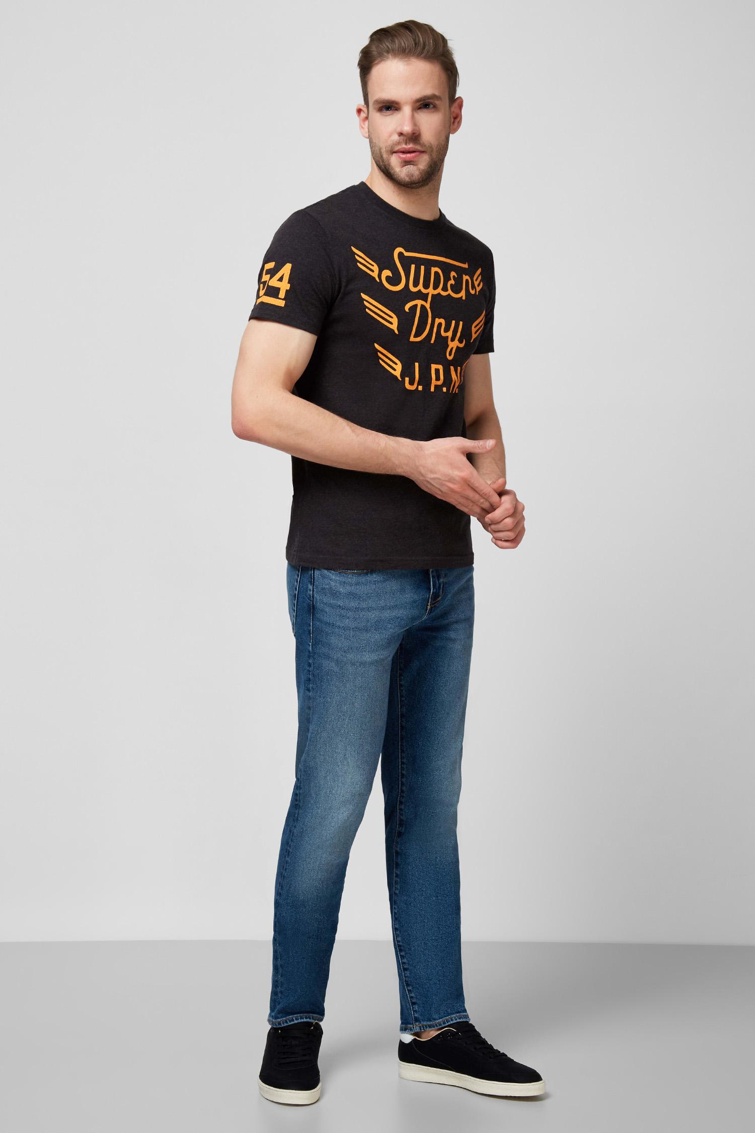 Мужские голубые джинсы SuperDry M7010115A;3XY