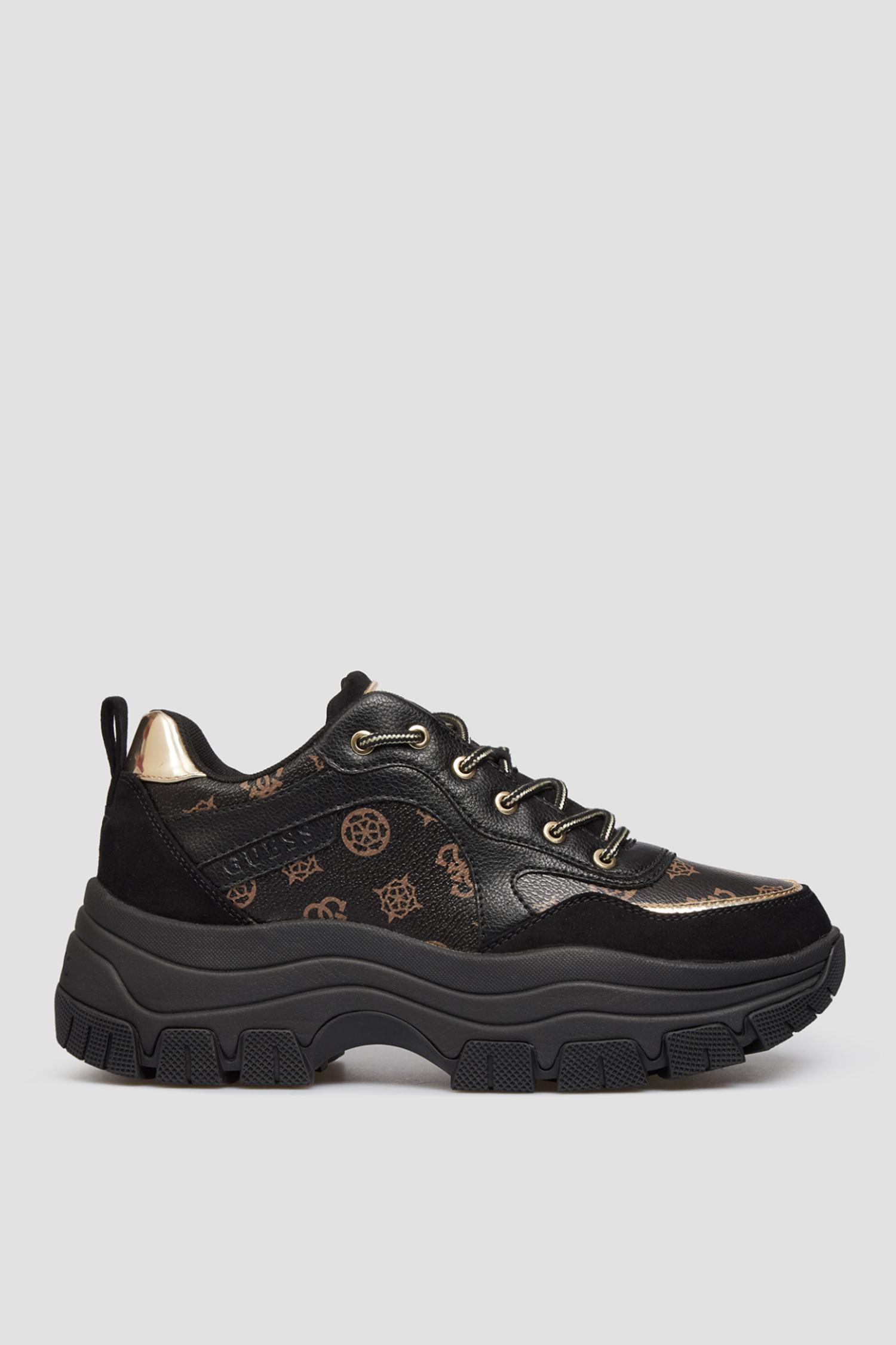 Черные кроссовки для девушек Guess FL8BRY.FAL12;BLACK