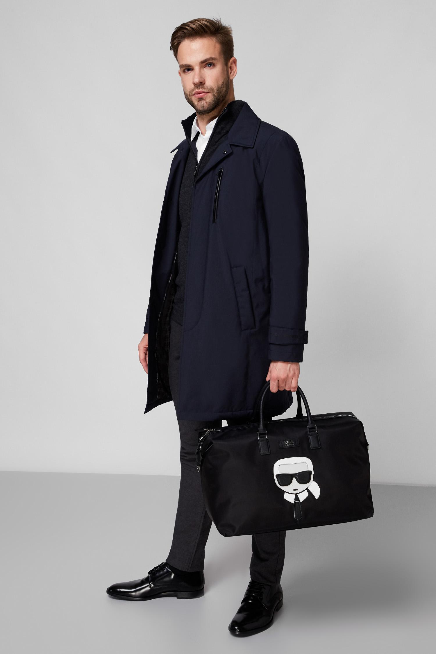 Мужское темно-синяя куртка Karl Lagerfeld 502540.455011;690