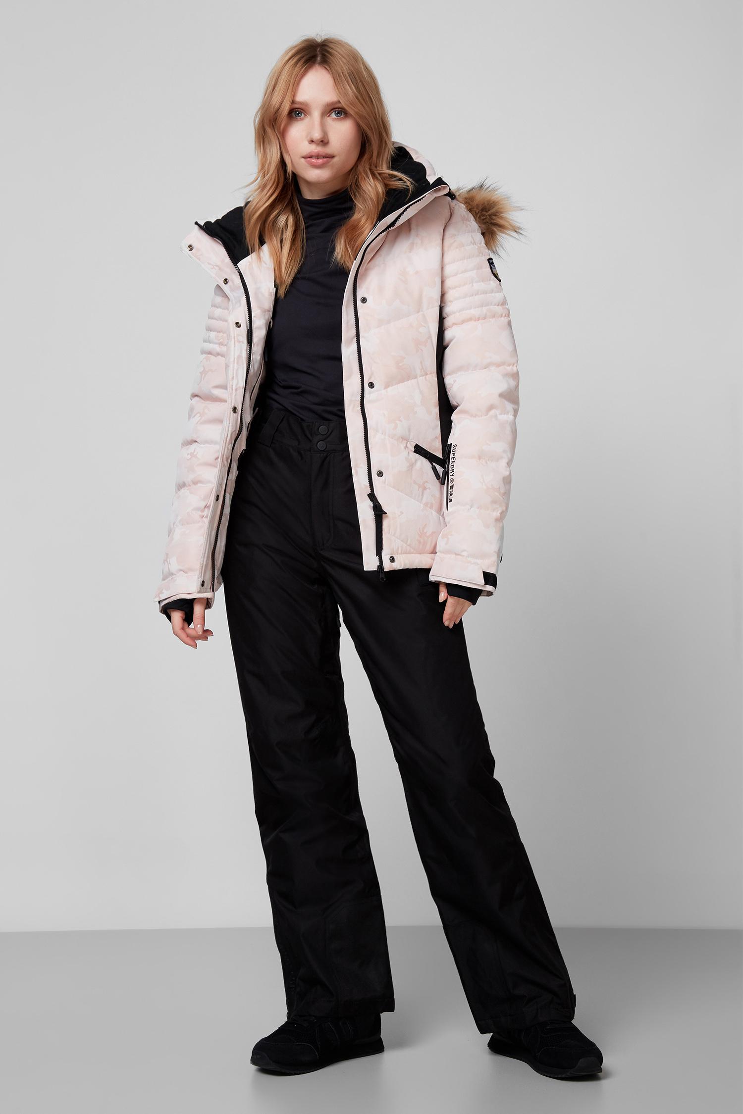 Женская пудровая лыжная куртка SuperDry WS110003A;EEC