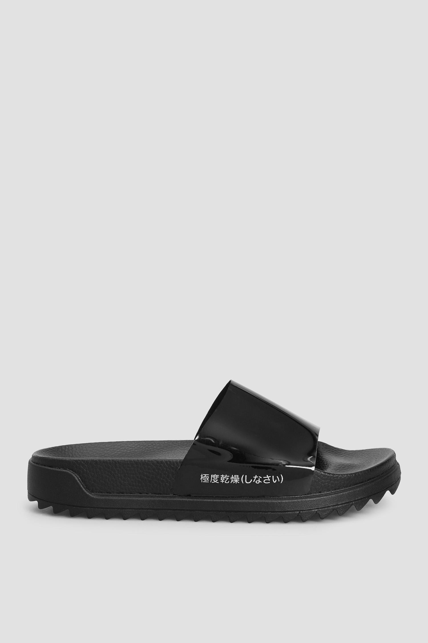 Чорні слайдери для дівчат SuperDry WF310026A;02A