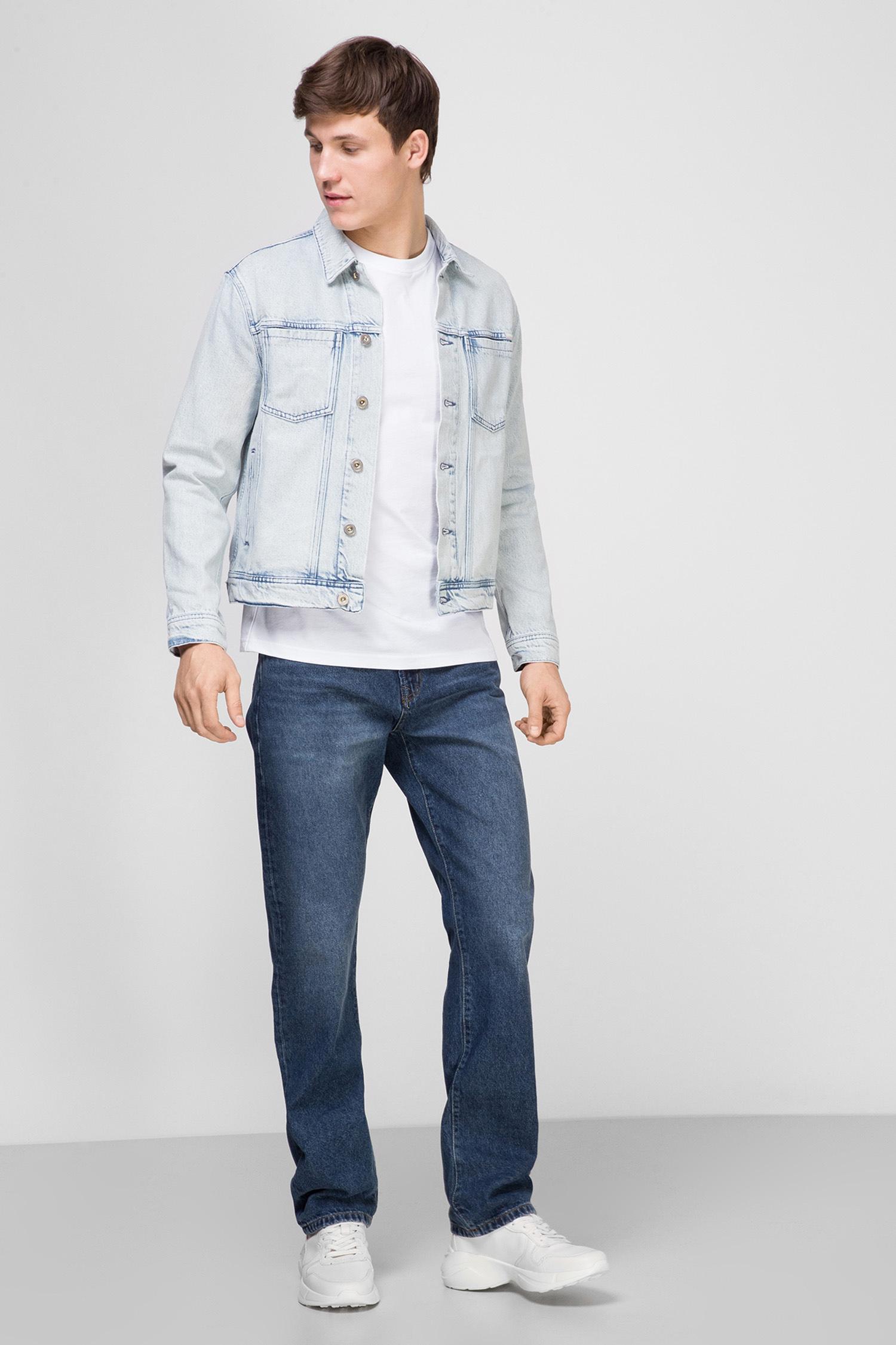 Мужские синие джинсы Ethan Heritage 06 SuperDry M7010018A;06L