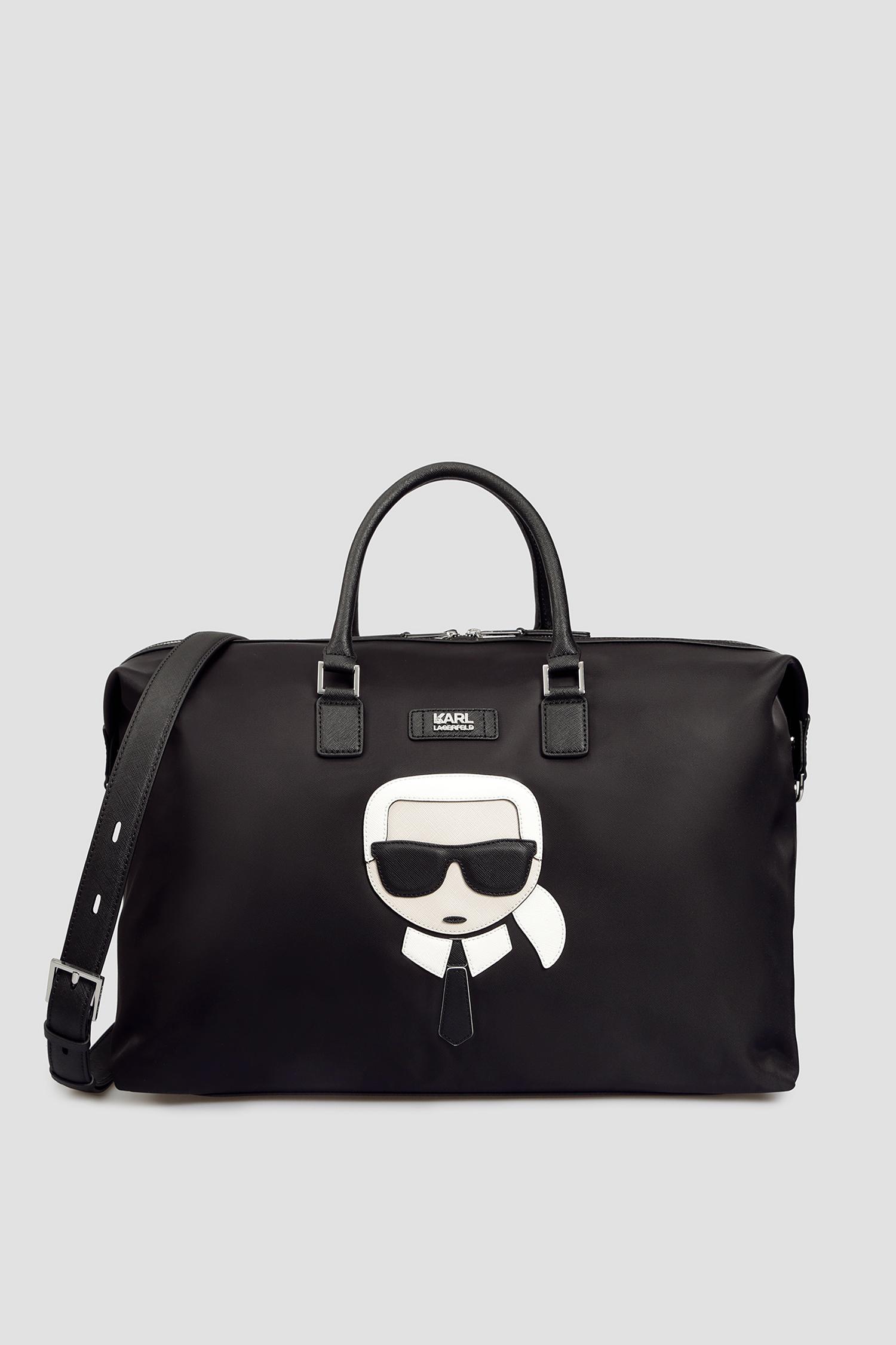 Черная дорожная сумка для парней Karl Lagerfeld 501199.805911;990