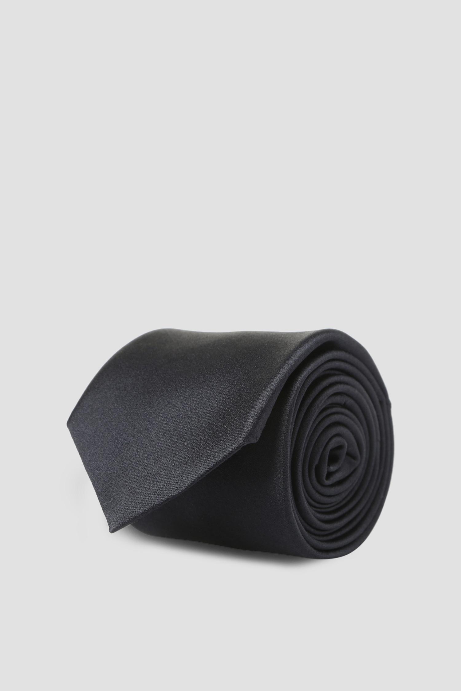 Темно-синий шелковый галстук для парней Karl Lagerfeld 591198.805100;690