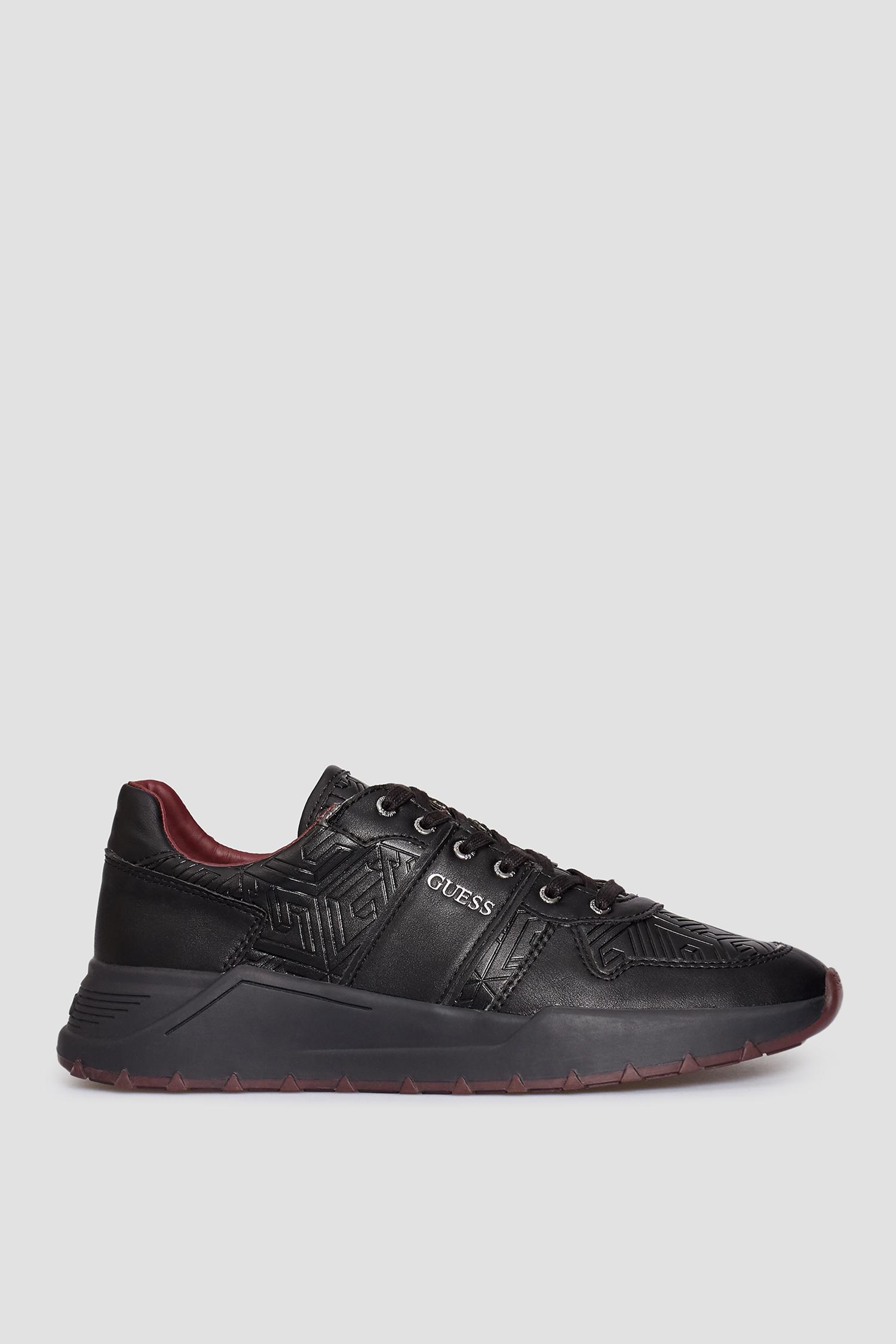 Черные кроссовки для парней Guess FM8LCV.PEL12;BLACK