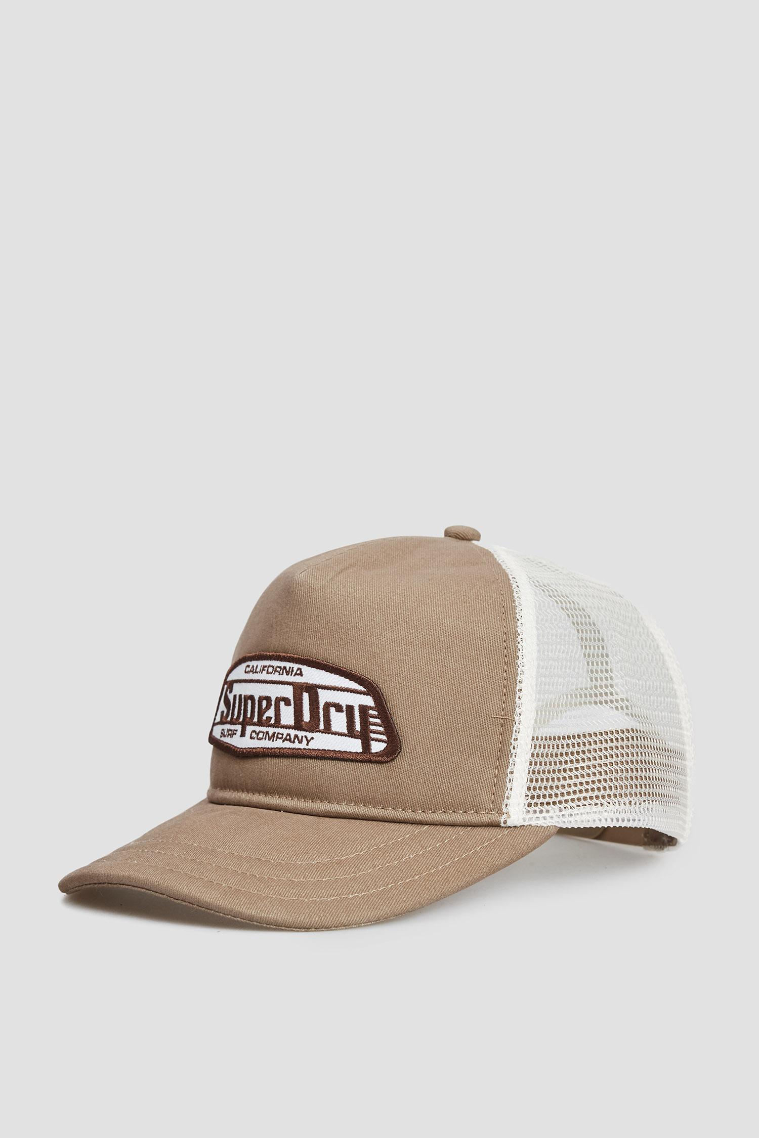 Чоловіча коричнева кепка SuperDry M9010165A;5BE
