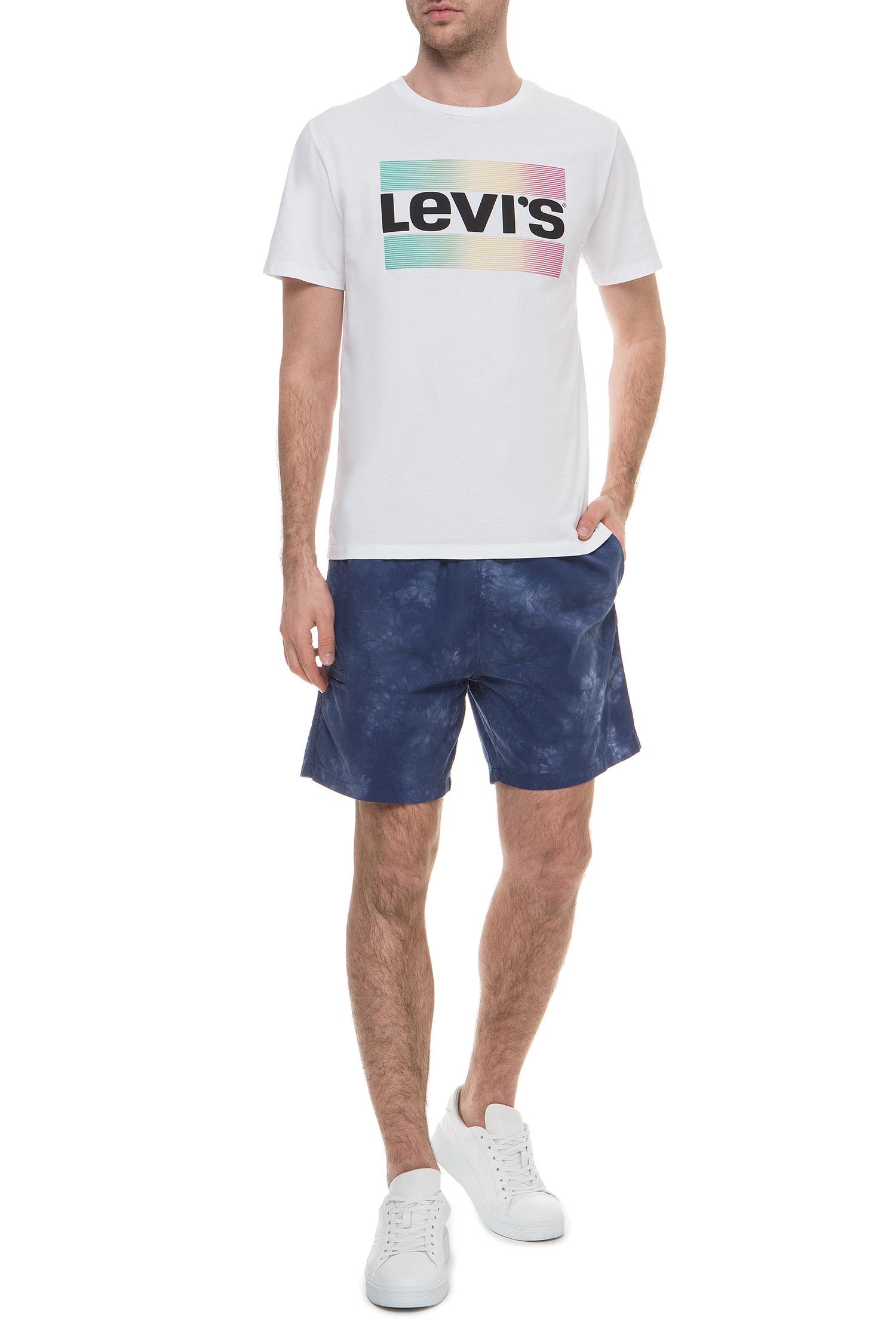 Мужская белая футболка Levi's 39636;0029