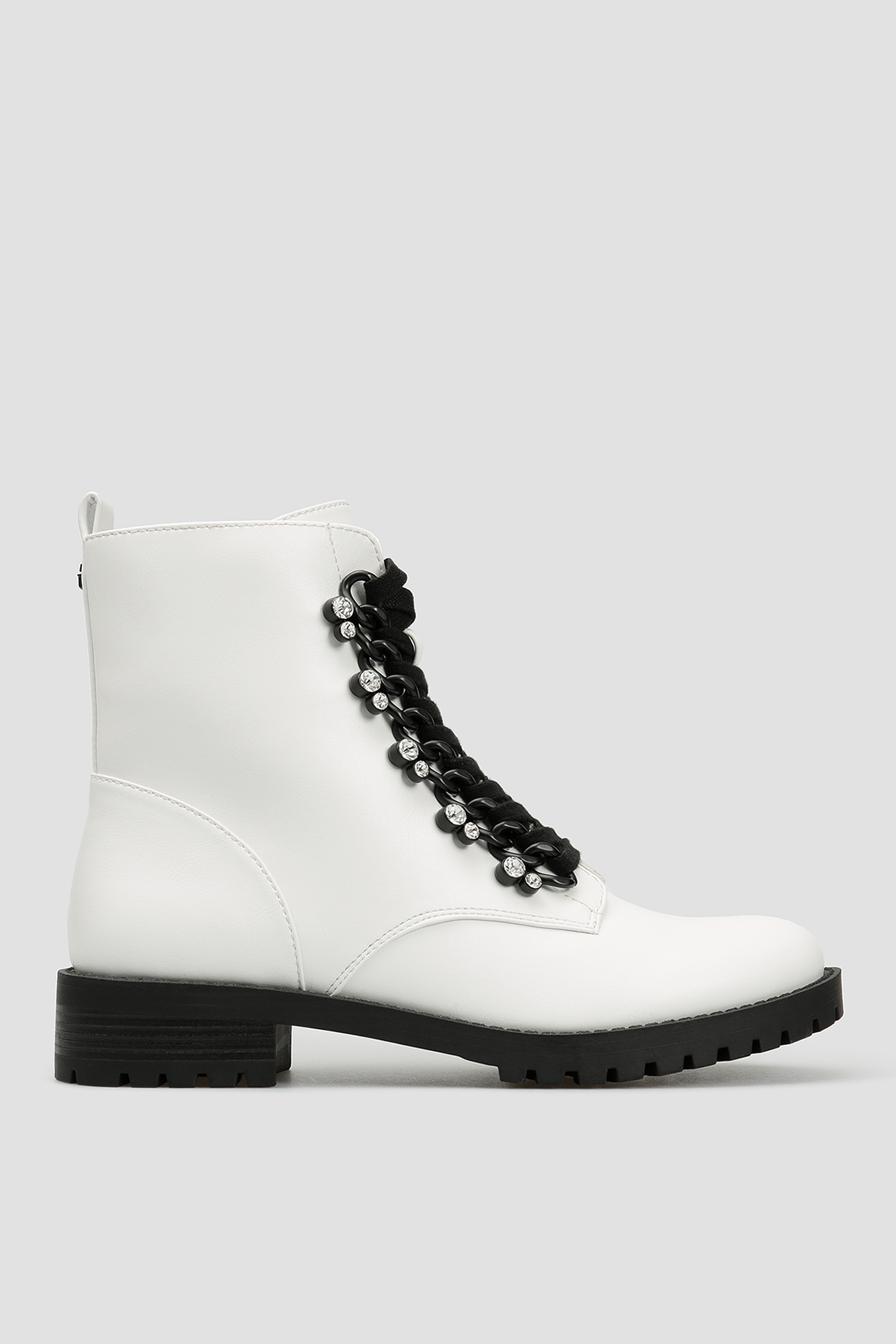 Женские белые ботинки Guess FL7HIE.ELE10;WHITE