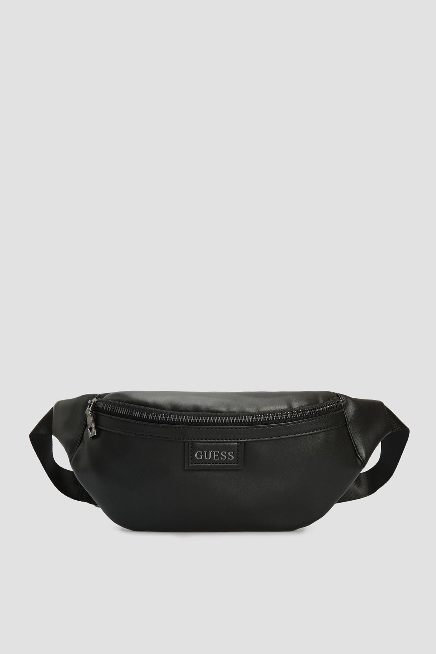 Мужская черная поясная сумка Guess HMSCLA.P1230;BLA