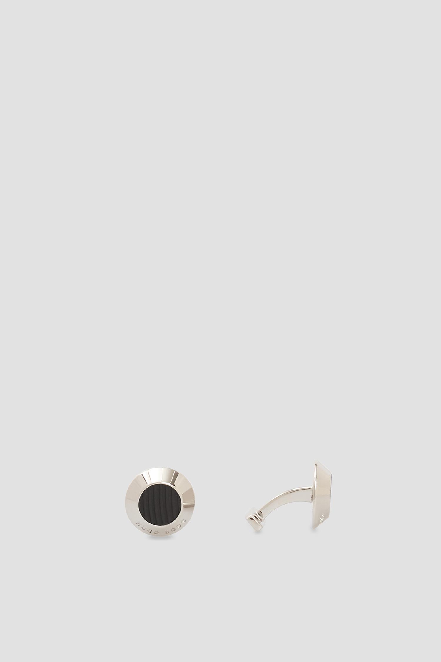 Мужские серебристые запонки BOSS 50447943;001