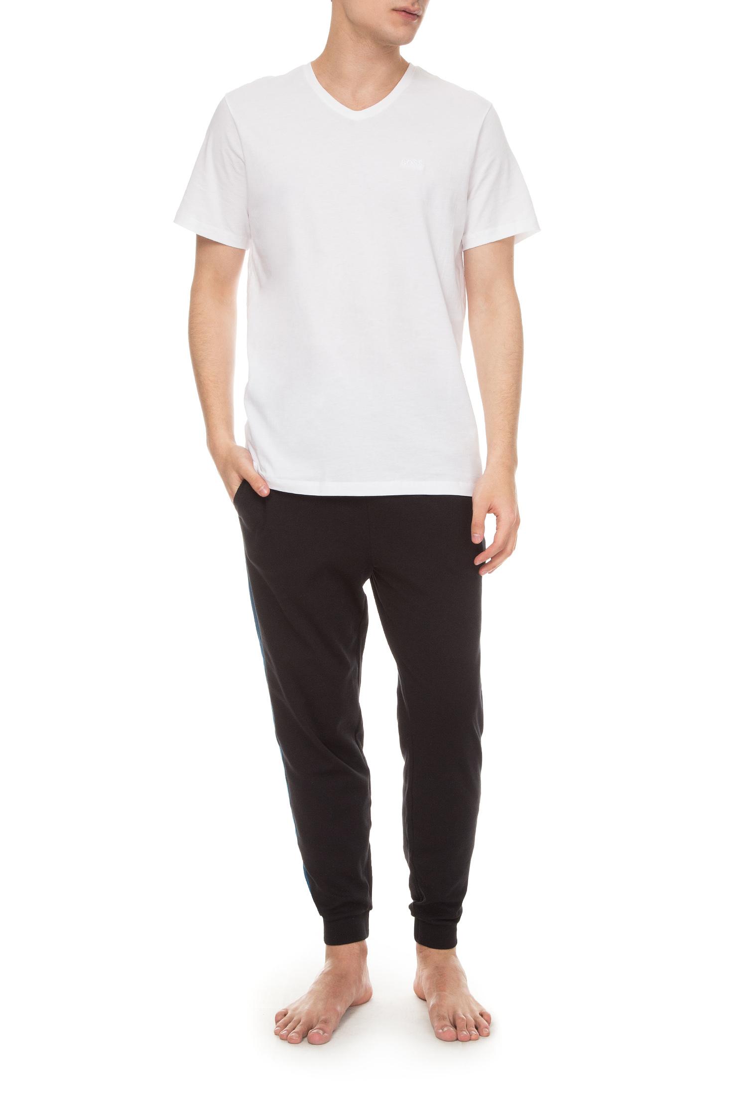 Мужская белая футболка (2 шт) BOSS 50325401;100