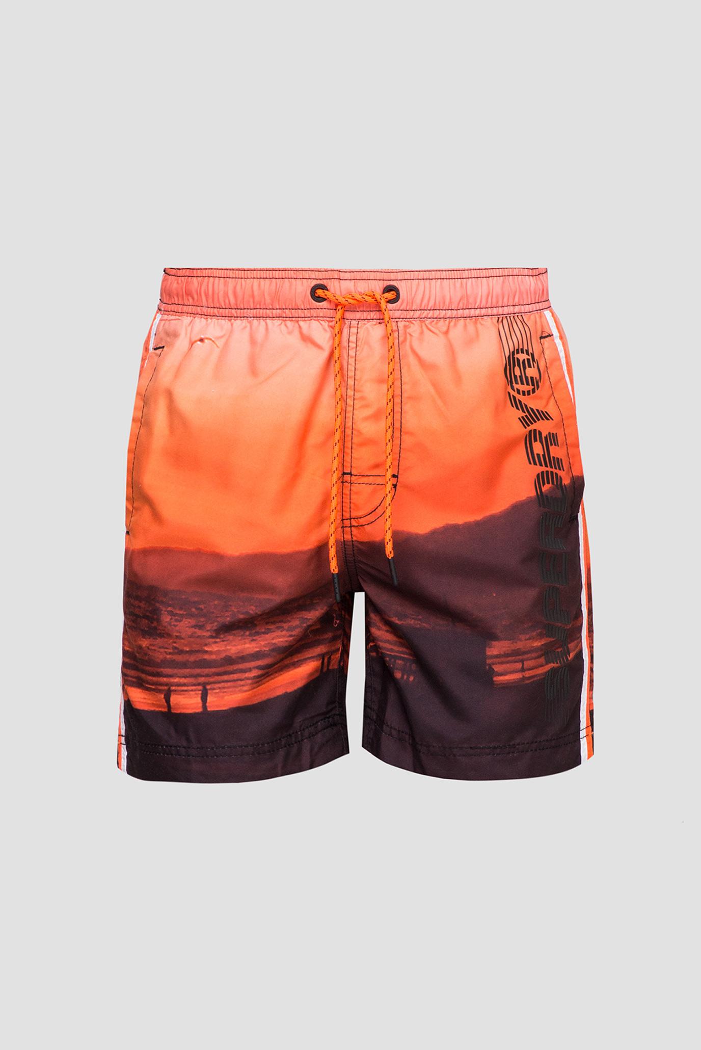 Чоловічі плавальні шорти з принтом SuperDry M3010010A;0VO