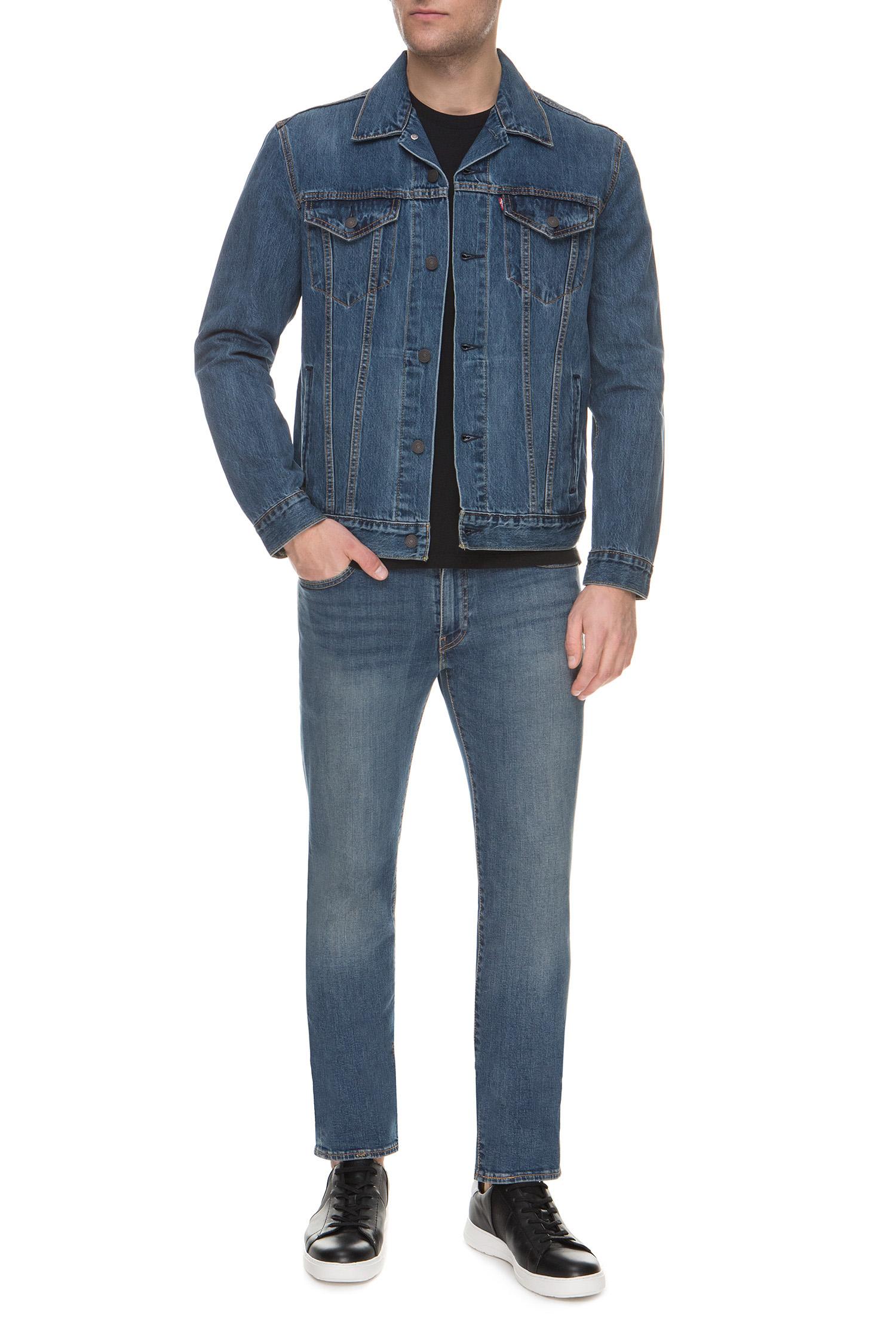 Мужская синяя джинсовая куртка Levi's 72334;0354