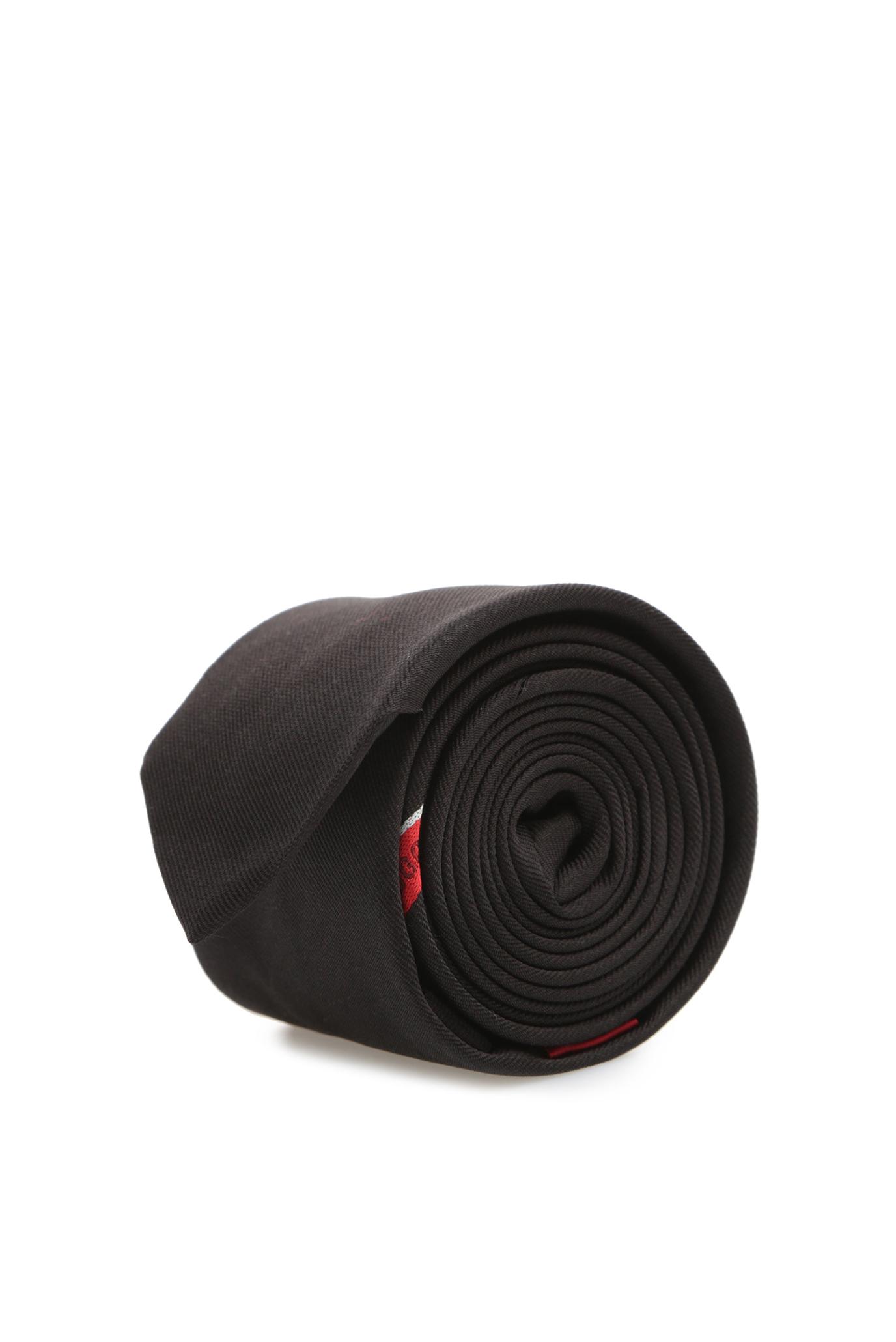 Мужской черный галстук HUGO 50407611;693