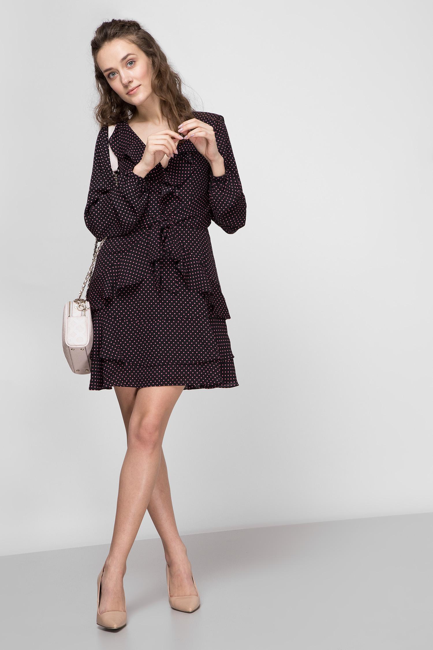 Женское черное платье Guess W0GK98.WCU70;P96J