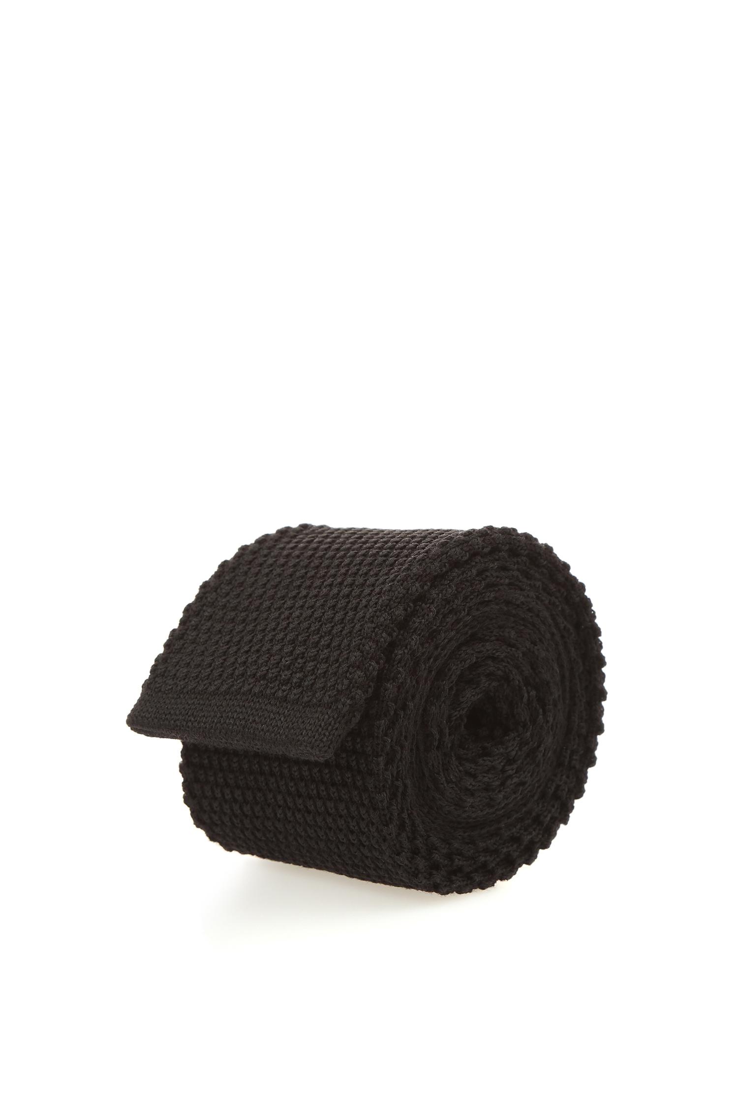 Черный галстук для парней BOSS 50397998;001