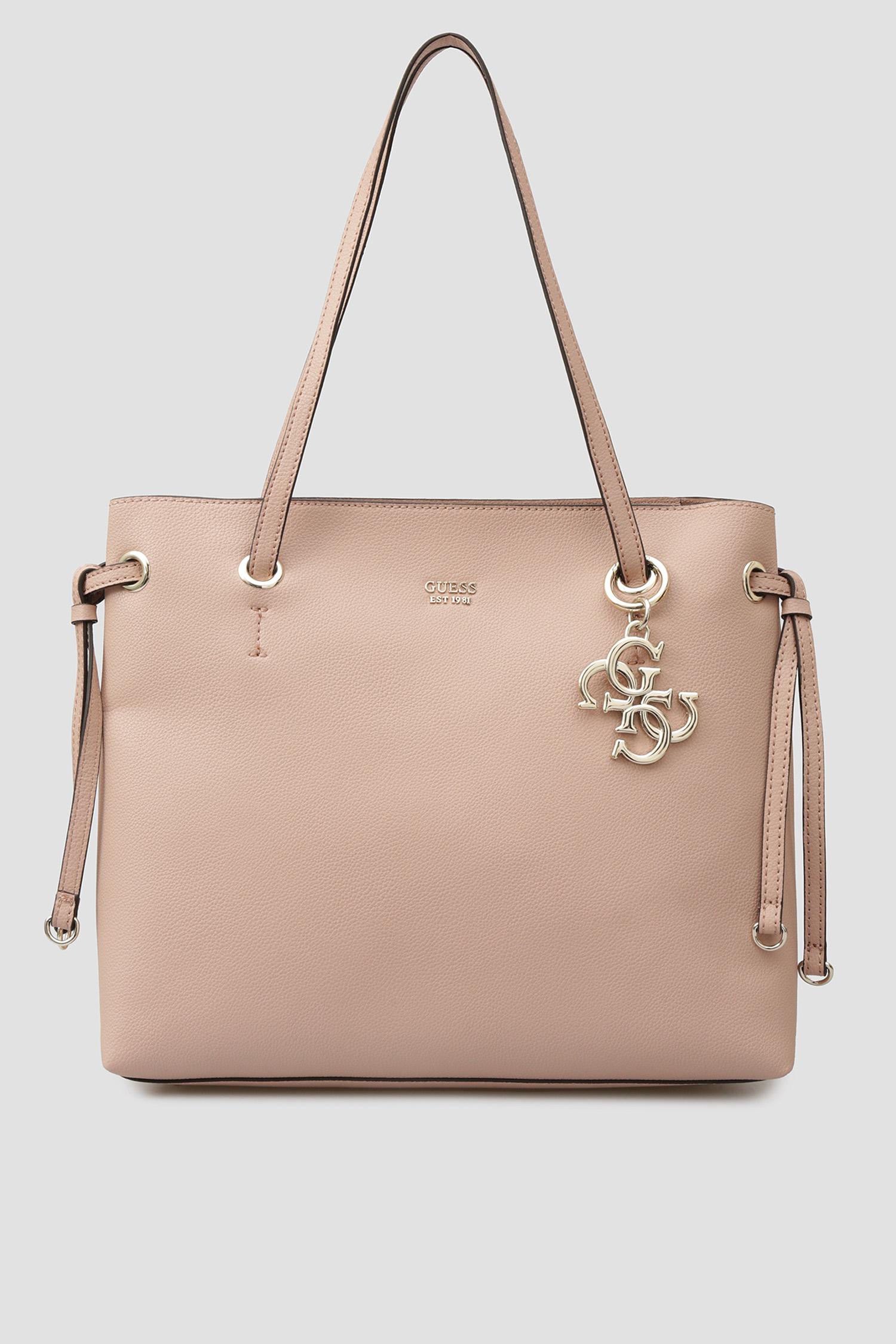 Женская розовая сумка Guess HWVG68.53240;BLS