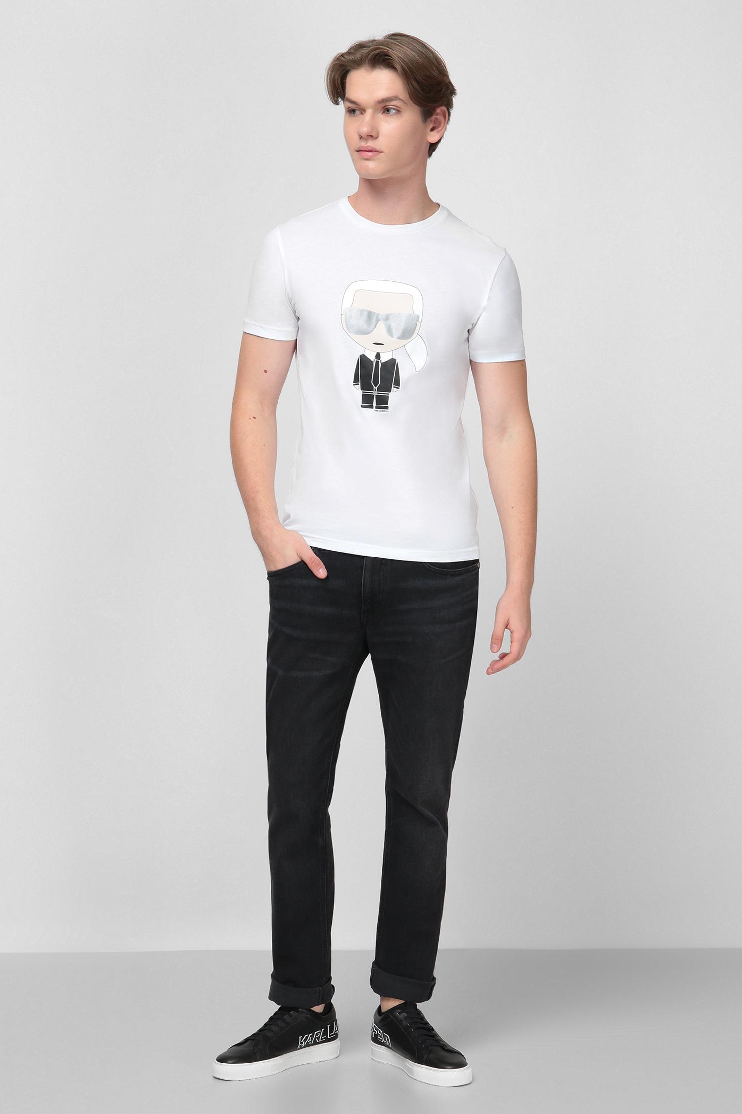 Белая футболка для парней Karl Lagerfeld 501251.755061;10