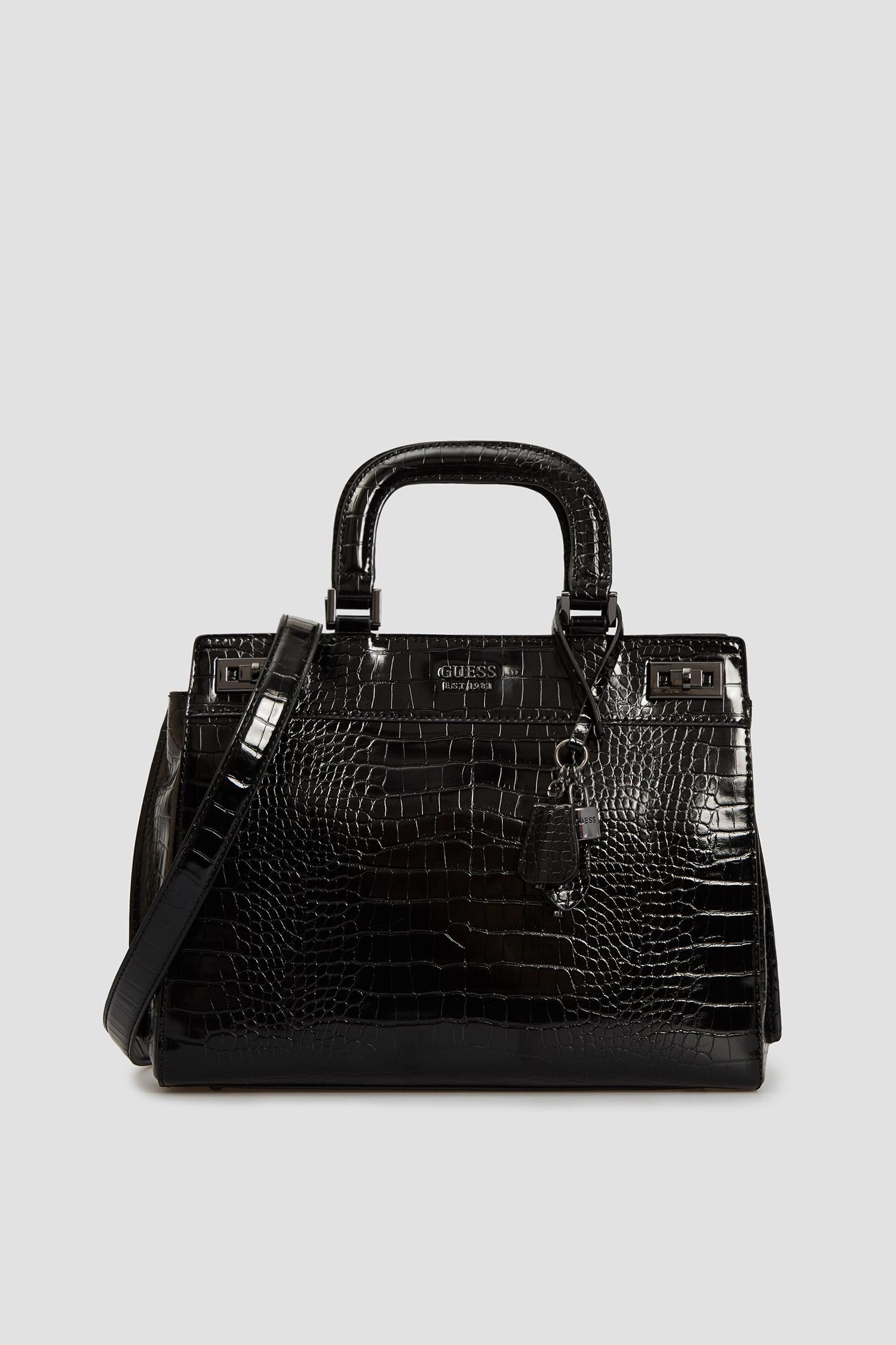 Женская черная сумка Guess HWCM78.70070;BLA