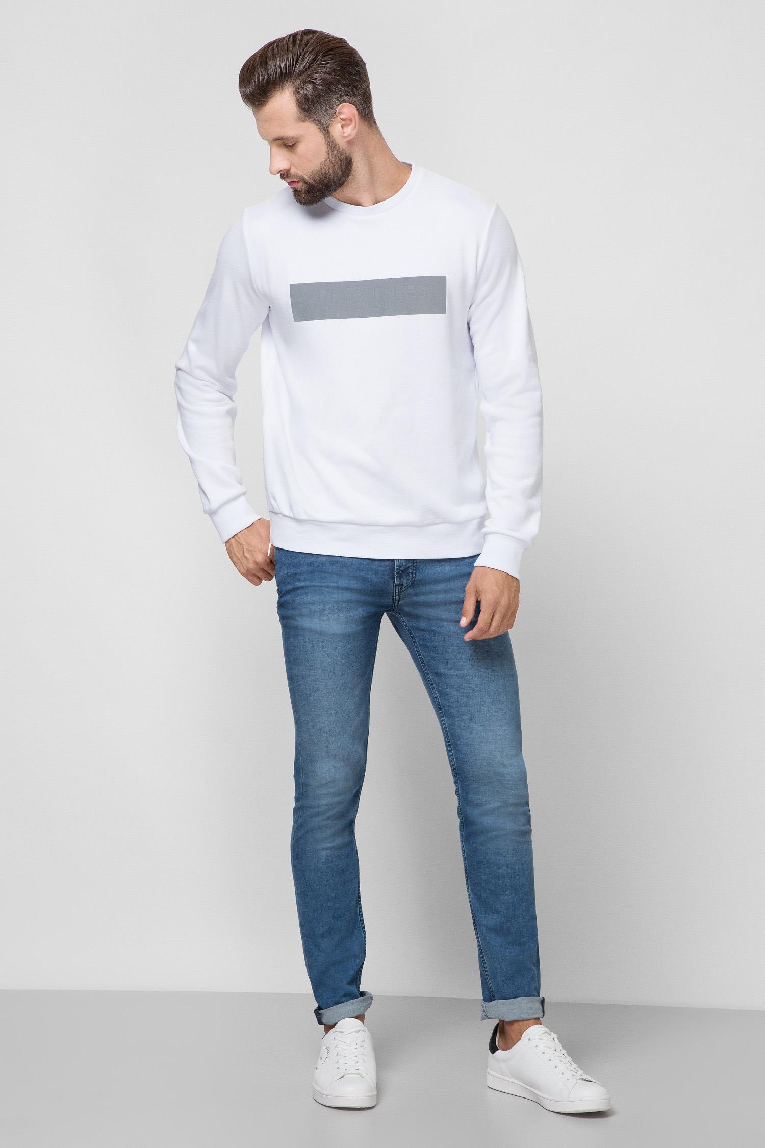 Мужской белый свитшот Karl Lagerfeld 501900.705023;10
