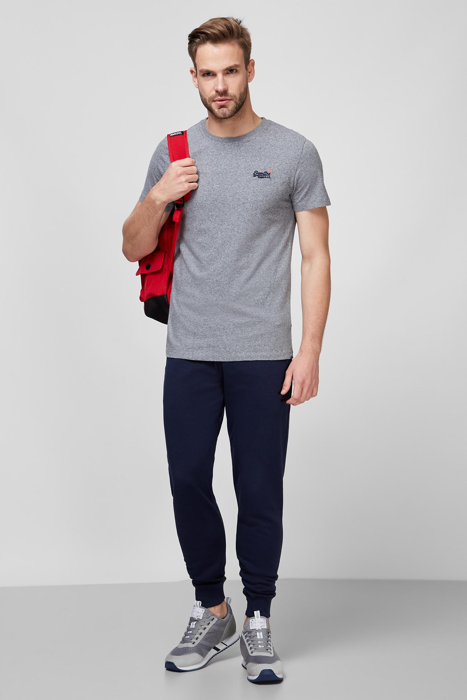 Мужская серая футболка SuperDry M1010206A;4HK